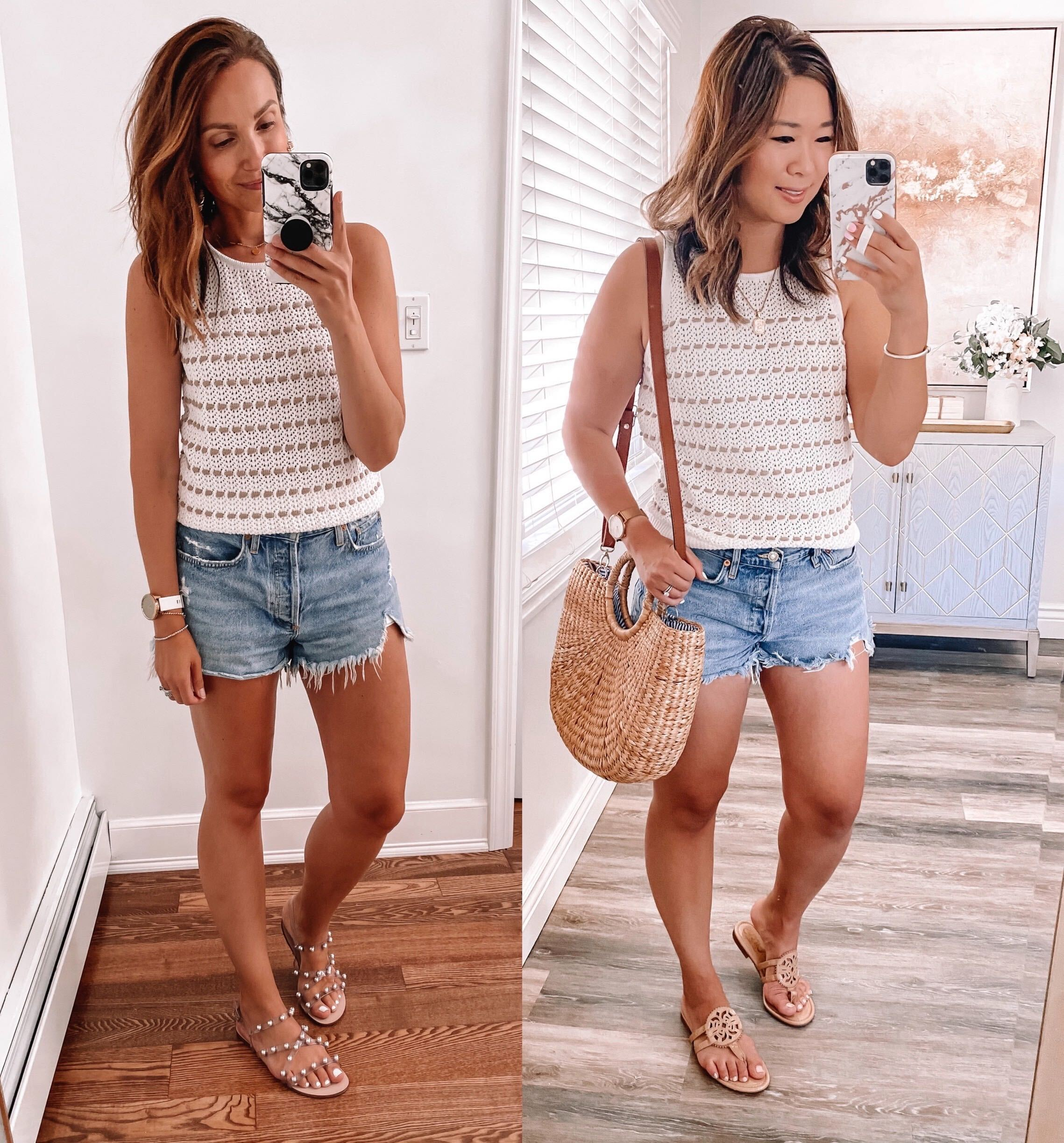 Summer Try-On with Sandy