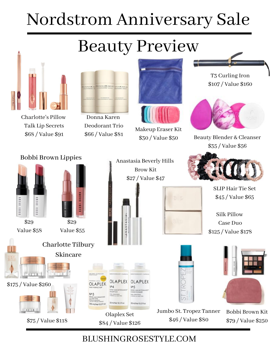 Nordstrom Anniversary Sale 2020 - Beauty Preview