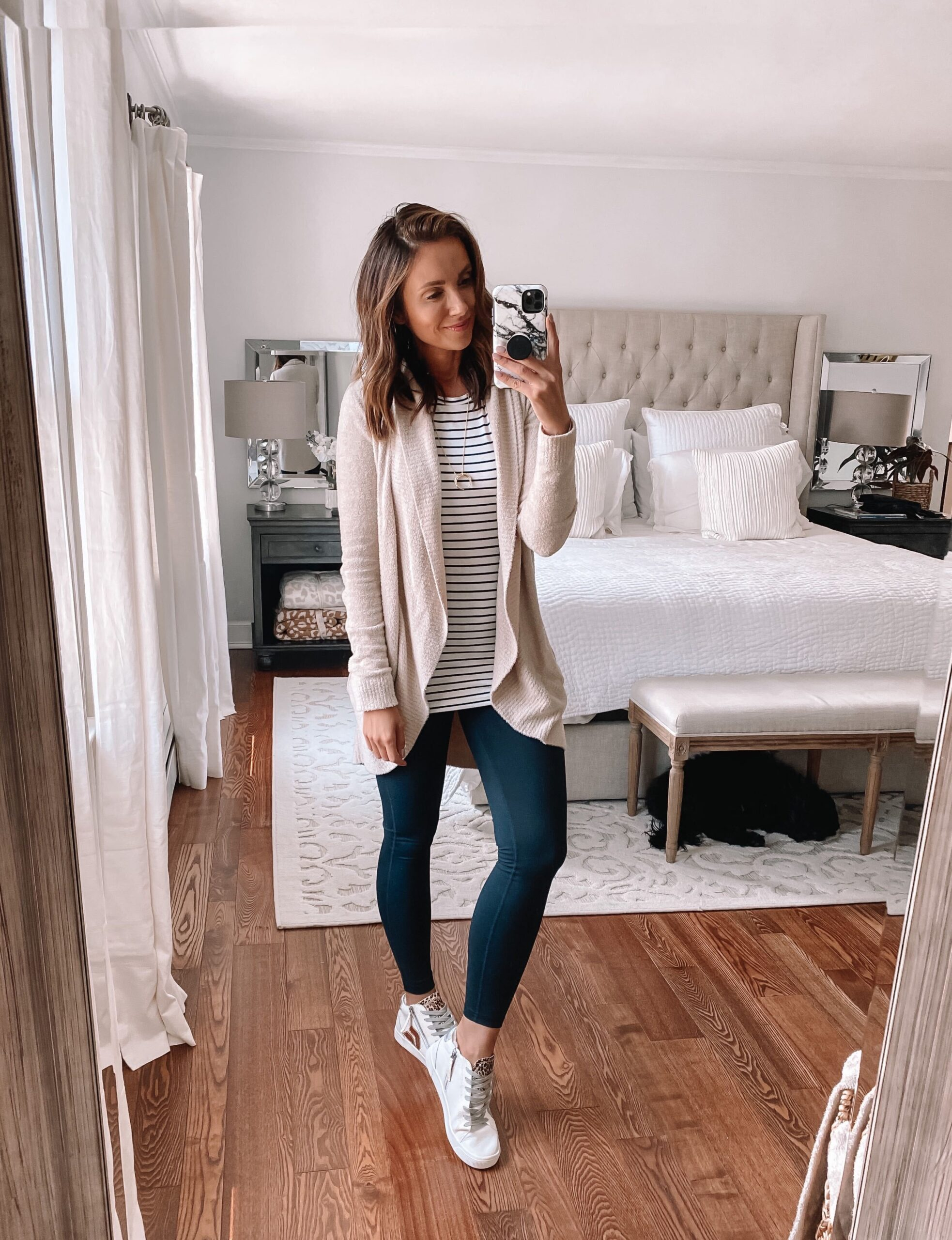 nsale, barefoot dreams cardigan, zella leggings
