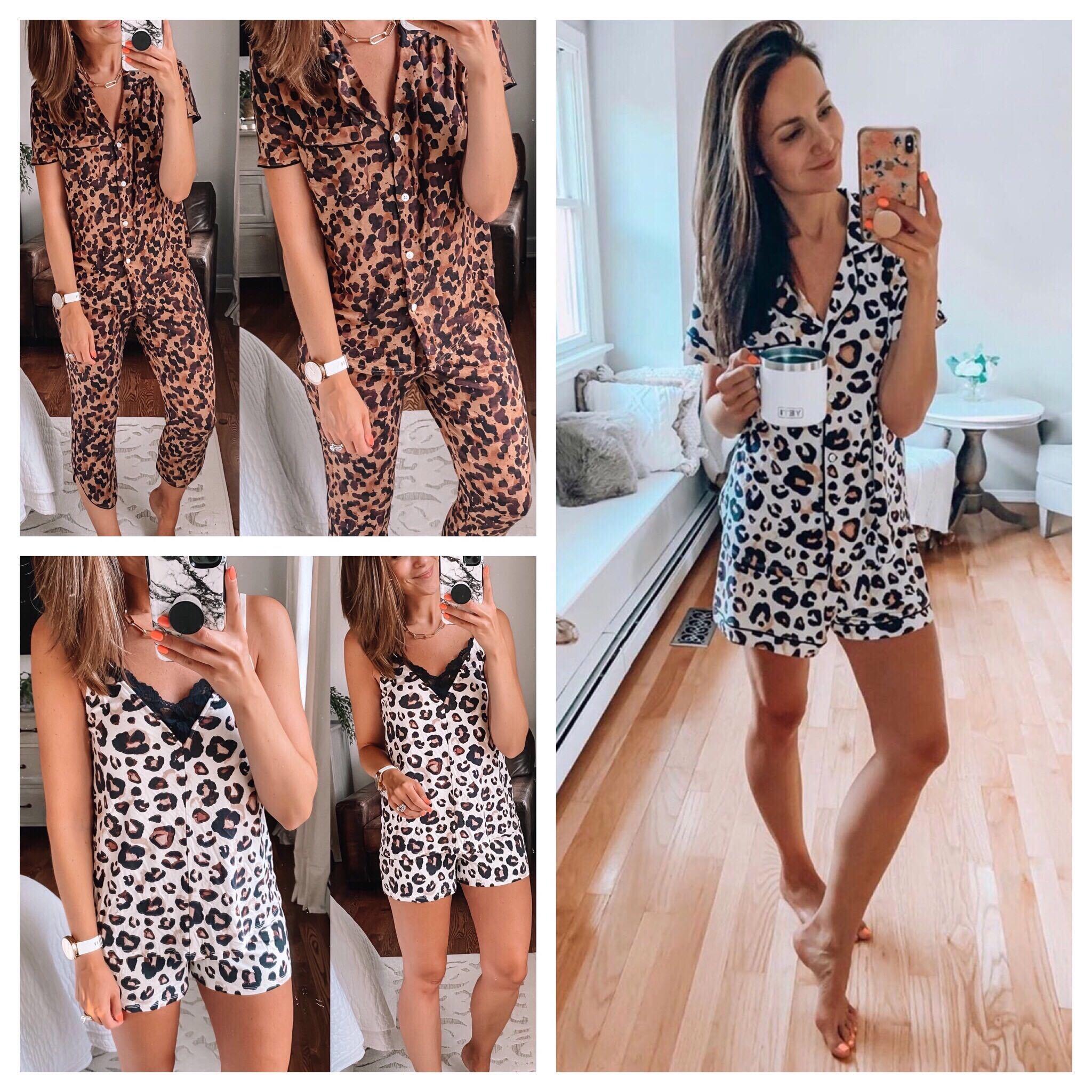 target finds, leopard pajamas