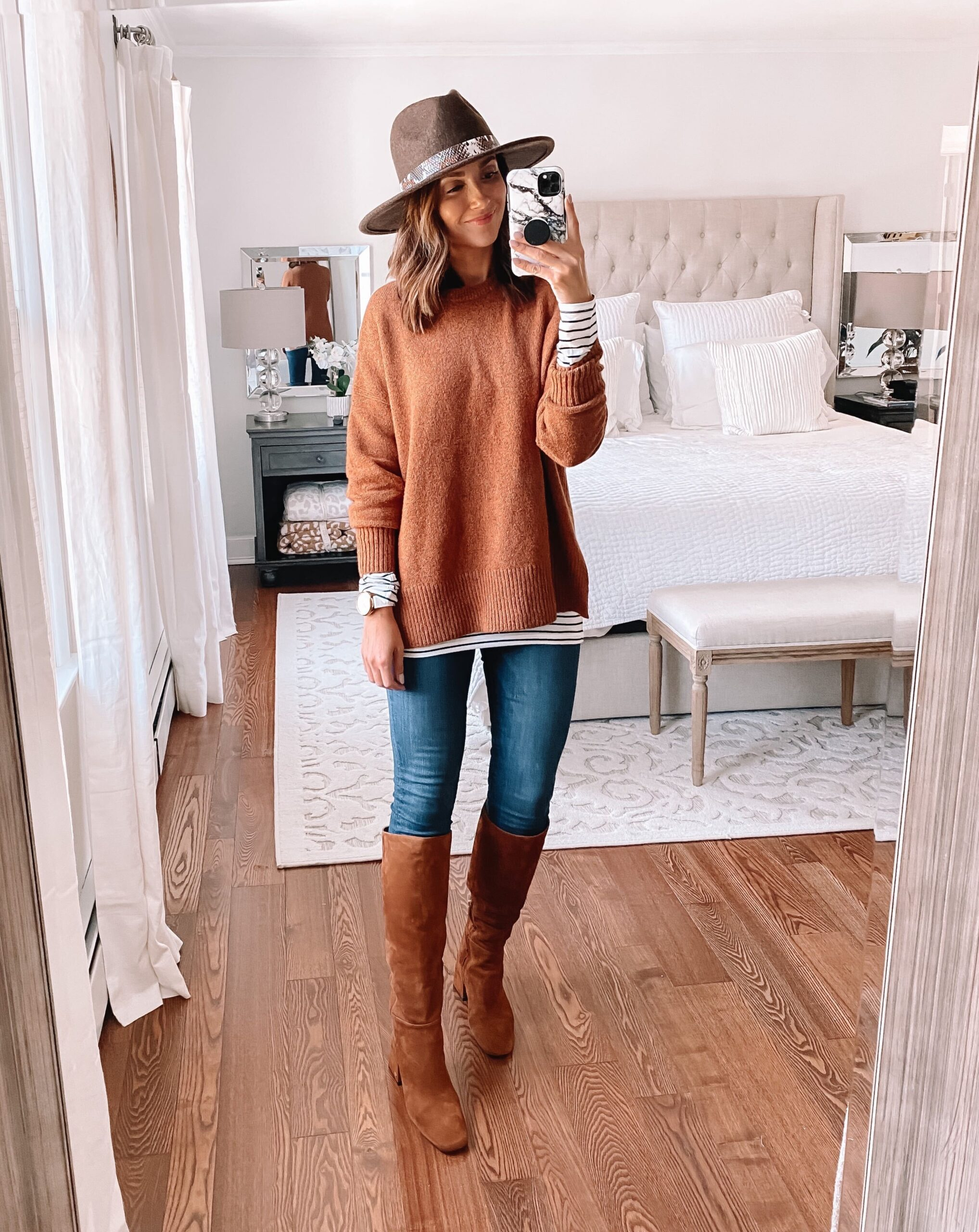 nsale, nsale sweater, jeans and boots