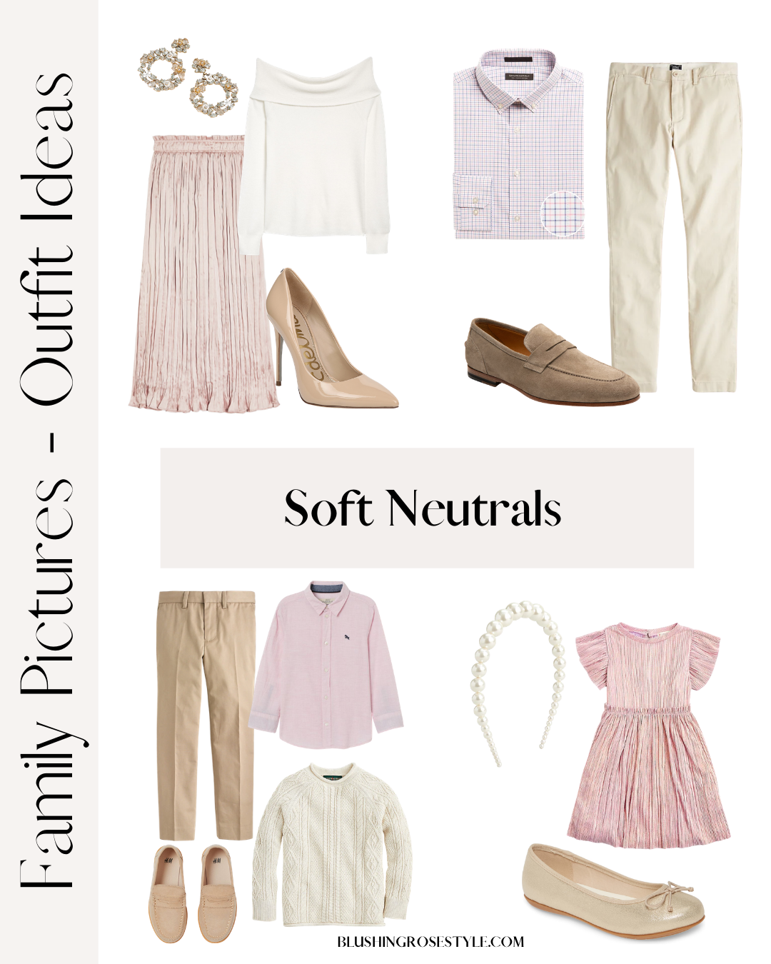 Fall Family Picture Outfit Ideas Soft Neutrals