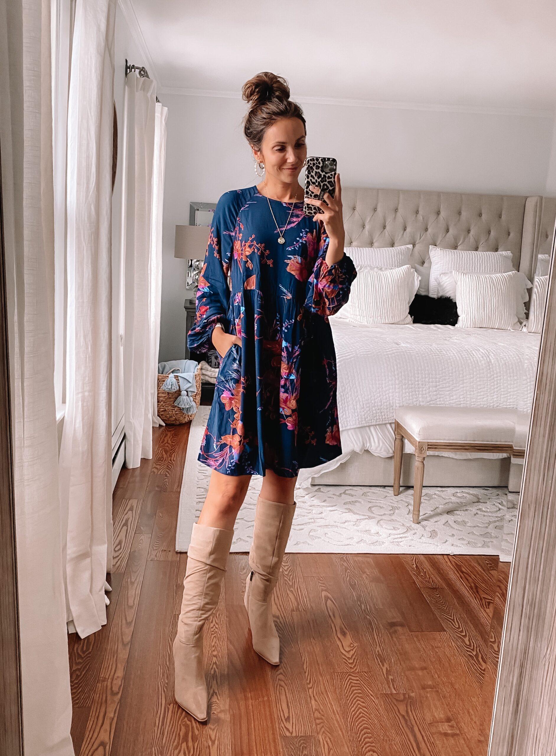 target style, fall dress