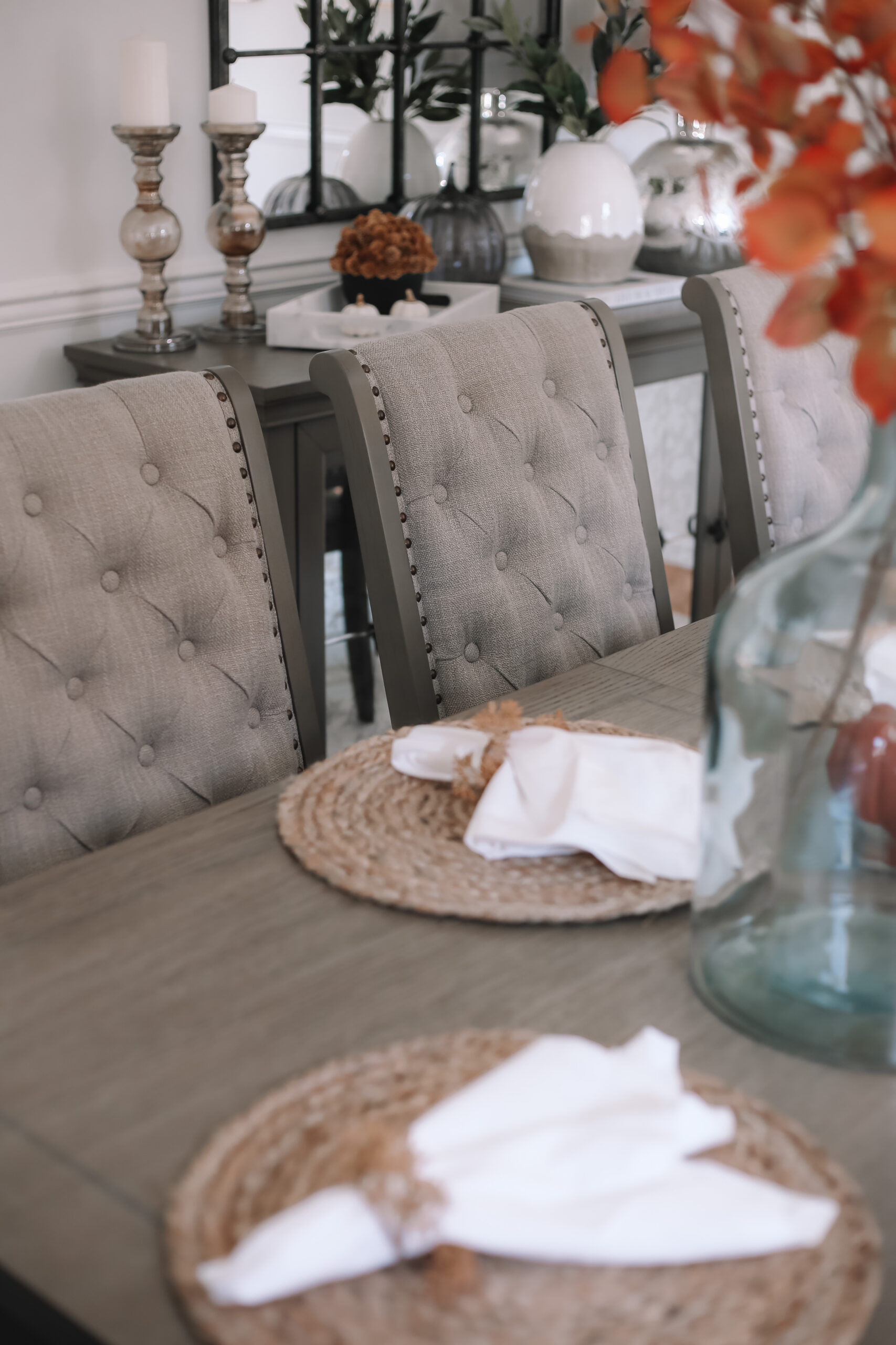 Fall Dining Room Makeover With Raymour, Raymour And Flanigan Dining Room