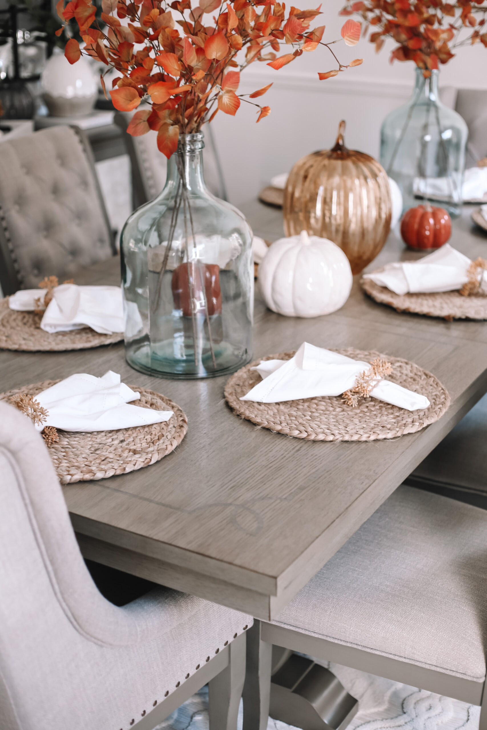 Fall Dining Room Makeover With Raymour, Raymour And Flanigan Dining Room Sets