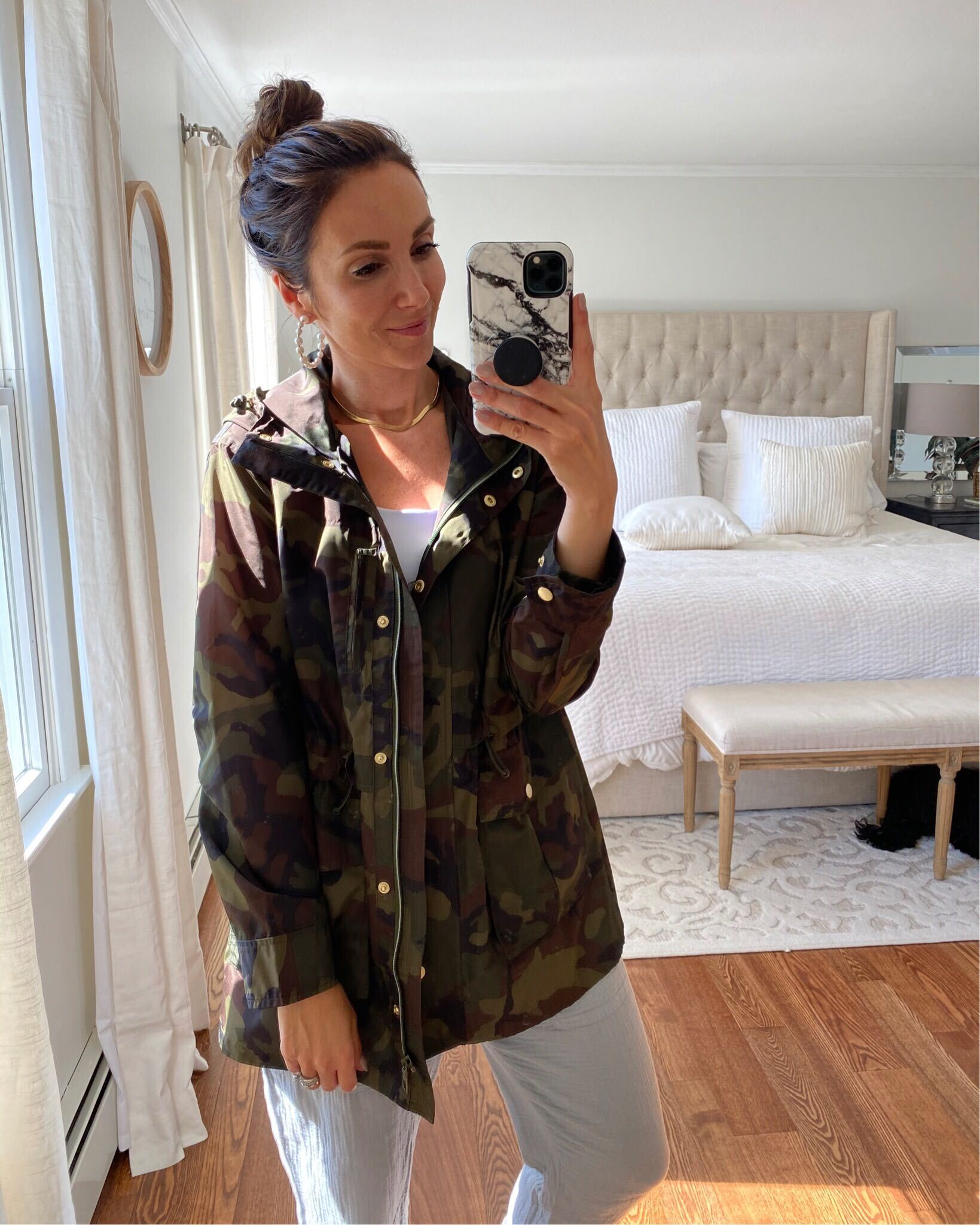 jcrew rain jacket