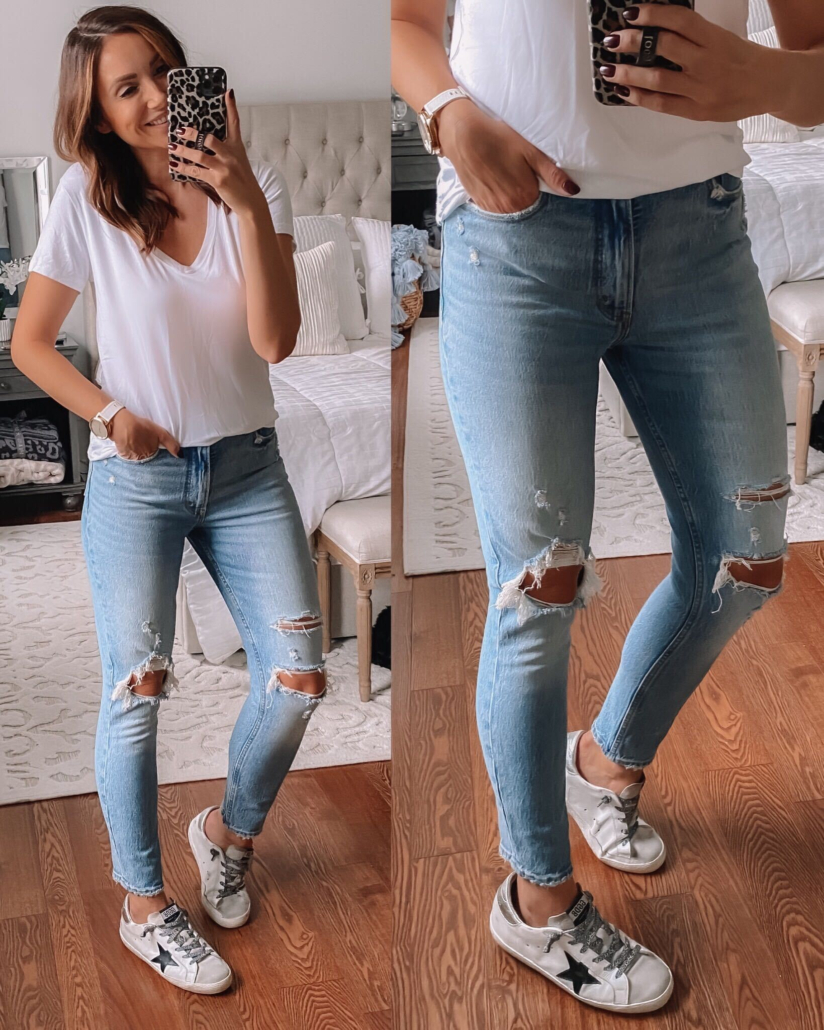 Abercrombie jeans, casual outfit idea
