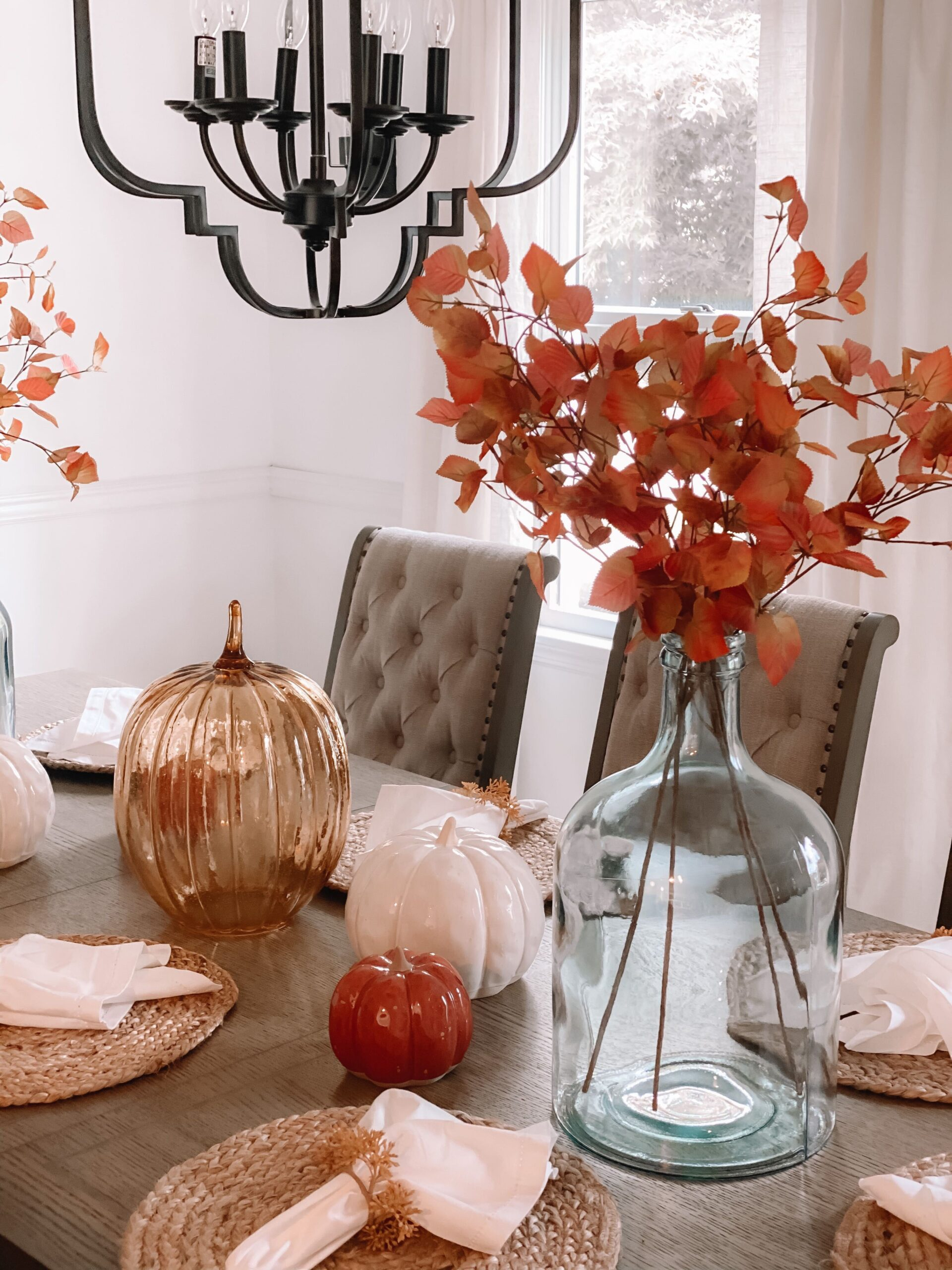 Fall Home Decor Tablescape