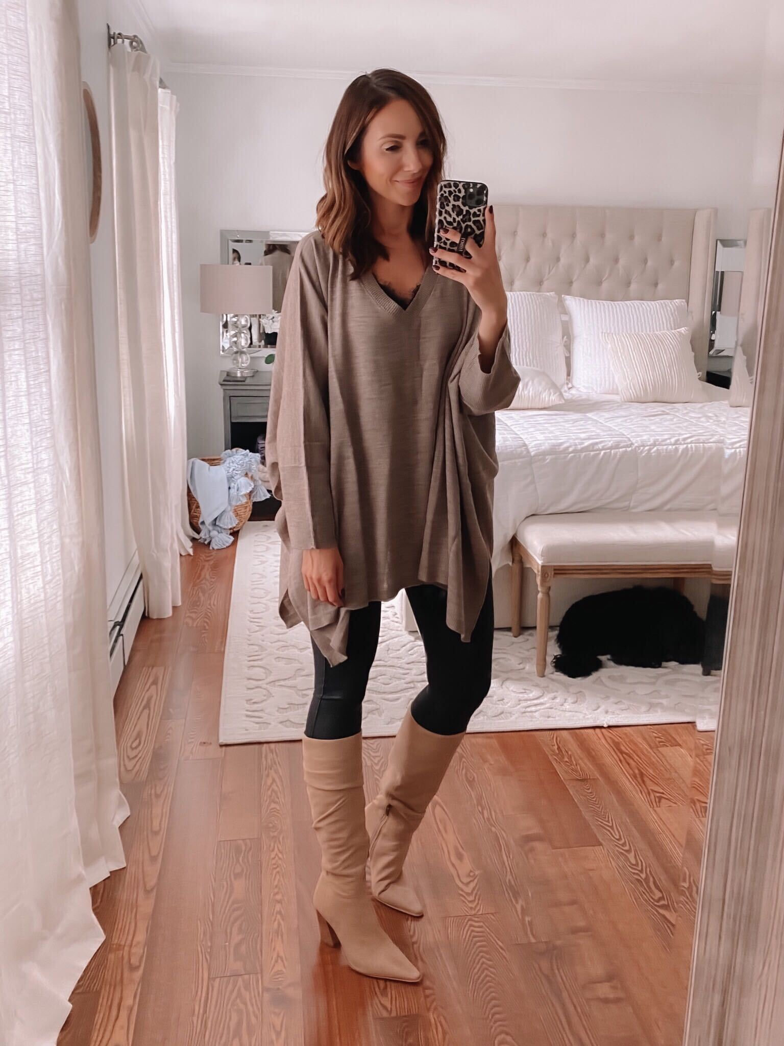 Target oversized sweater poncho