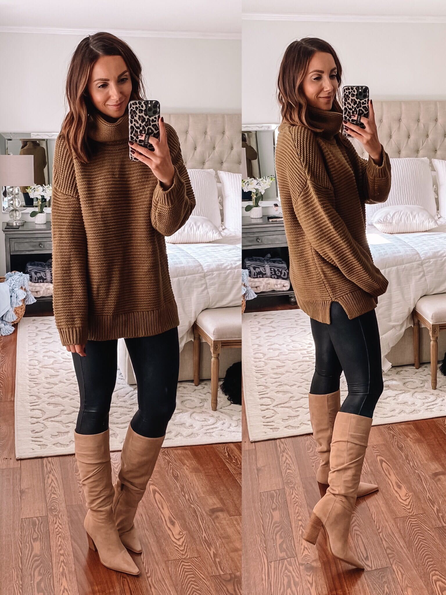 Chunky Amazon Sweater, Fall Outfit Idea