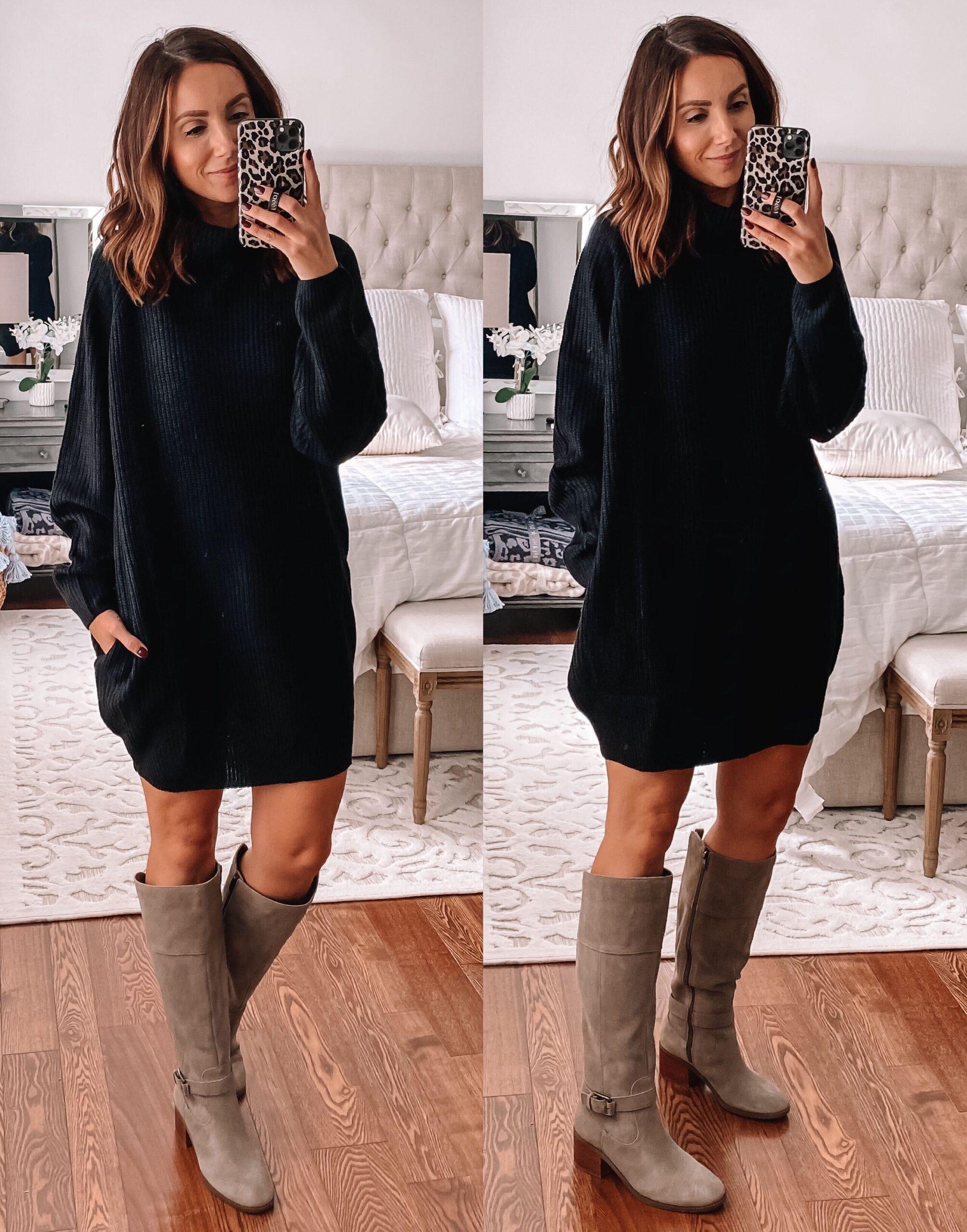 Amazon Oversized Sweater Dress