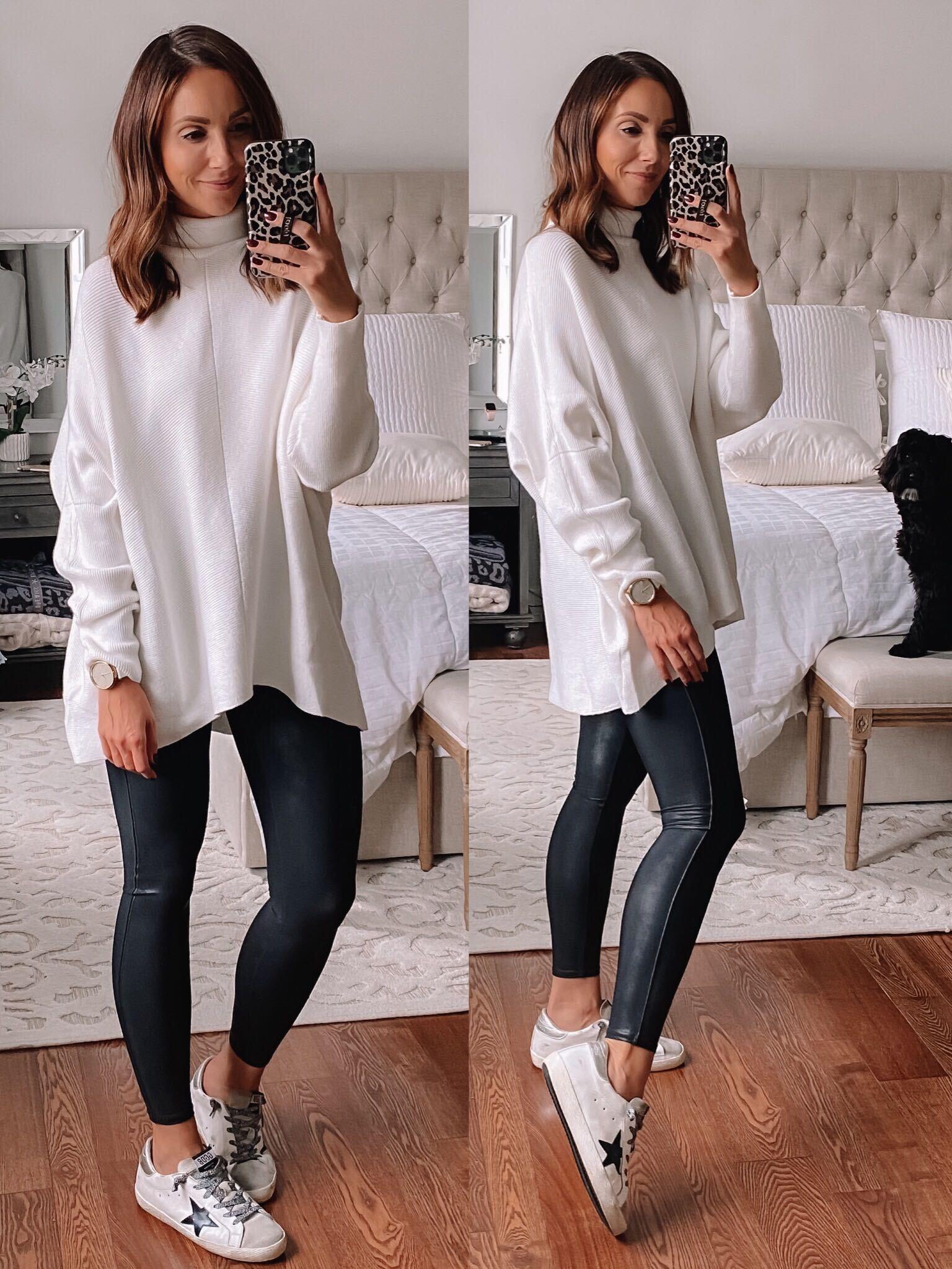 Amazon White Oversized Sweater