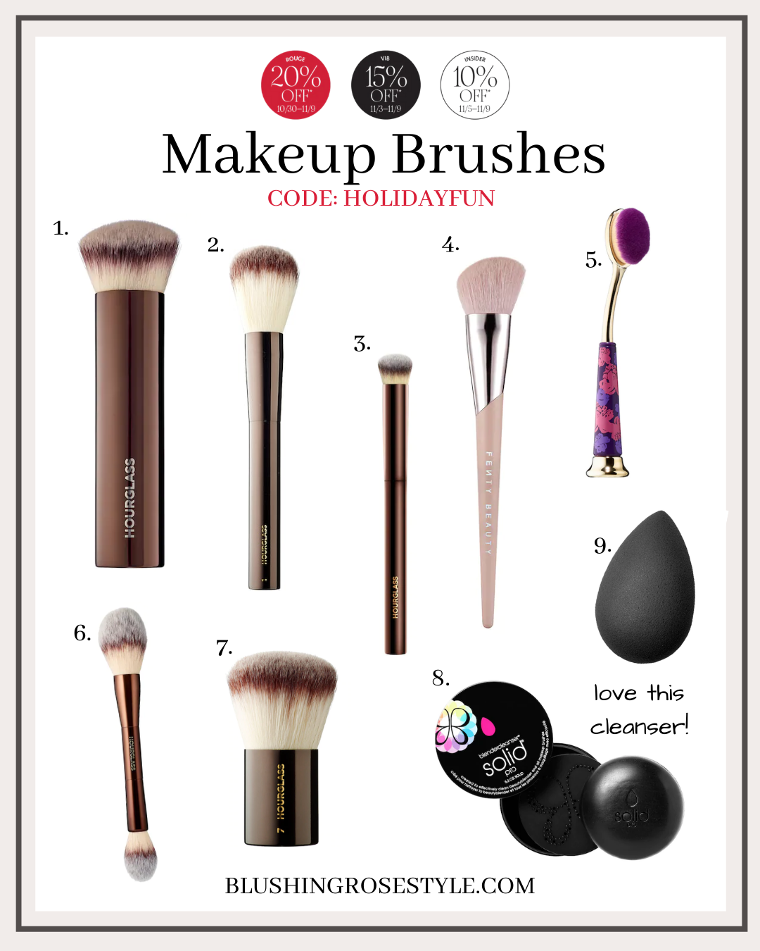 Sephora Makeup Brushes on Sale
