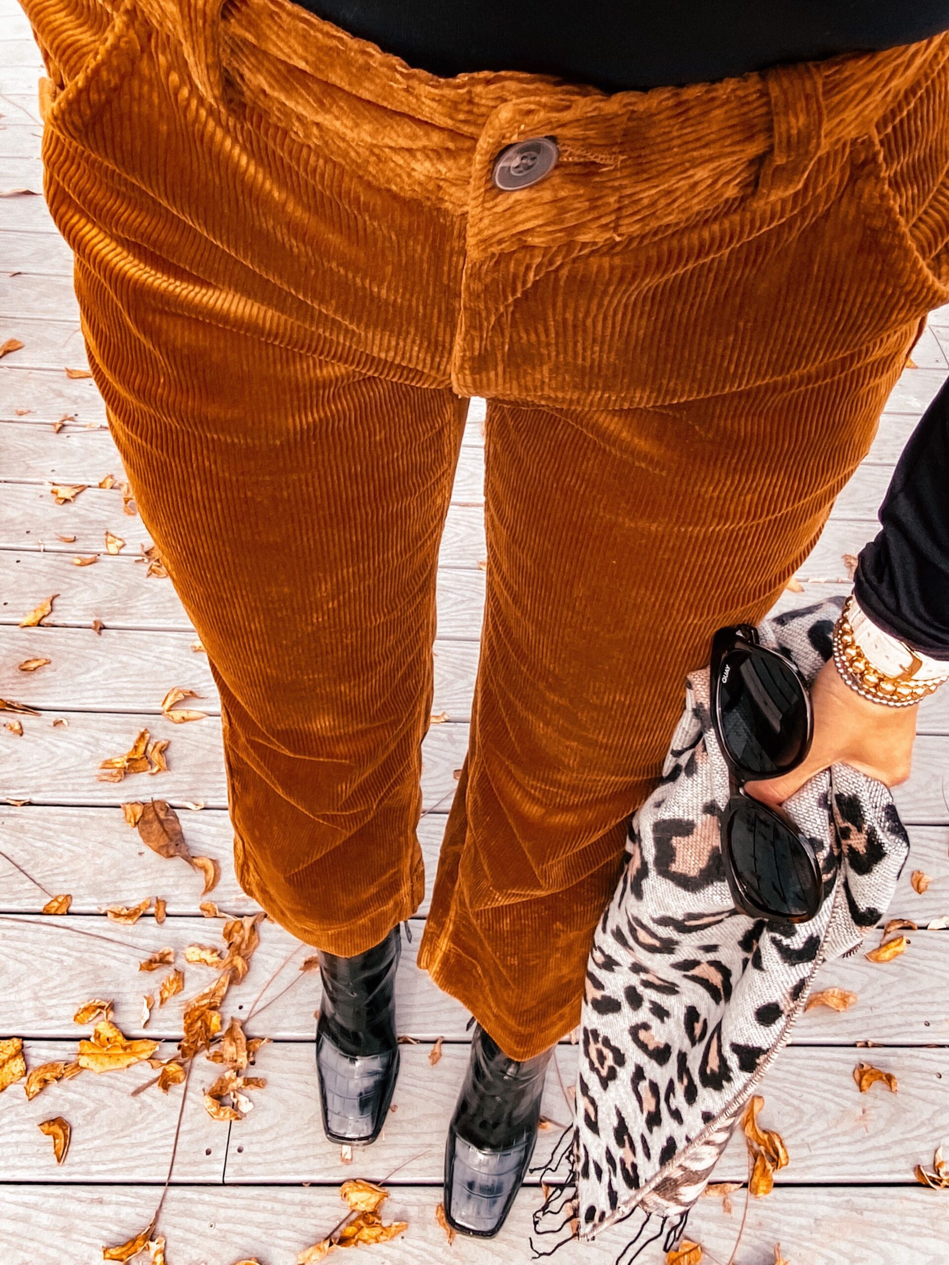 walmart finds, walmart fall fashion, corduroy pants