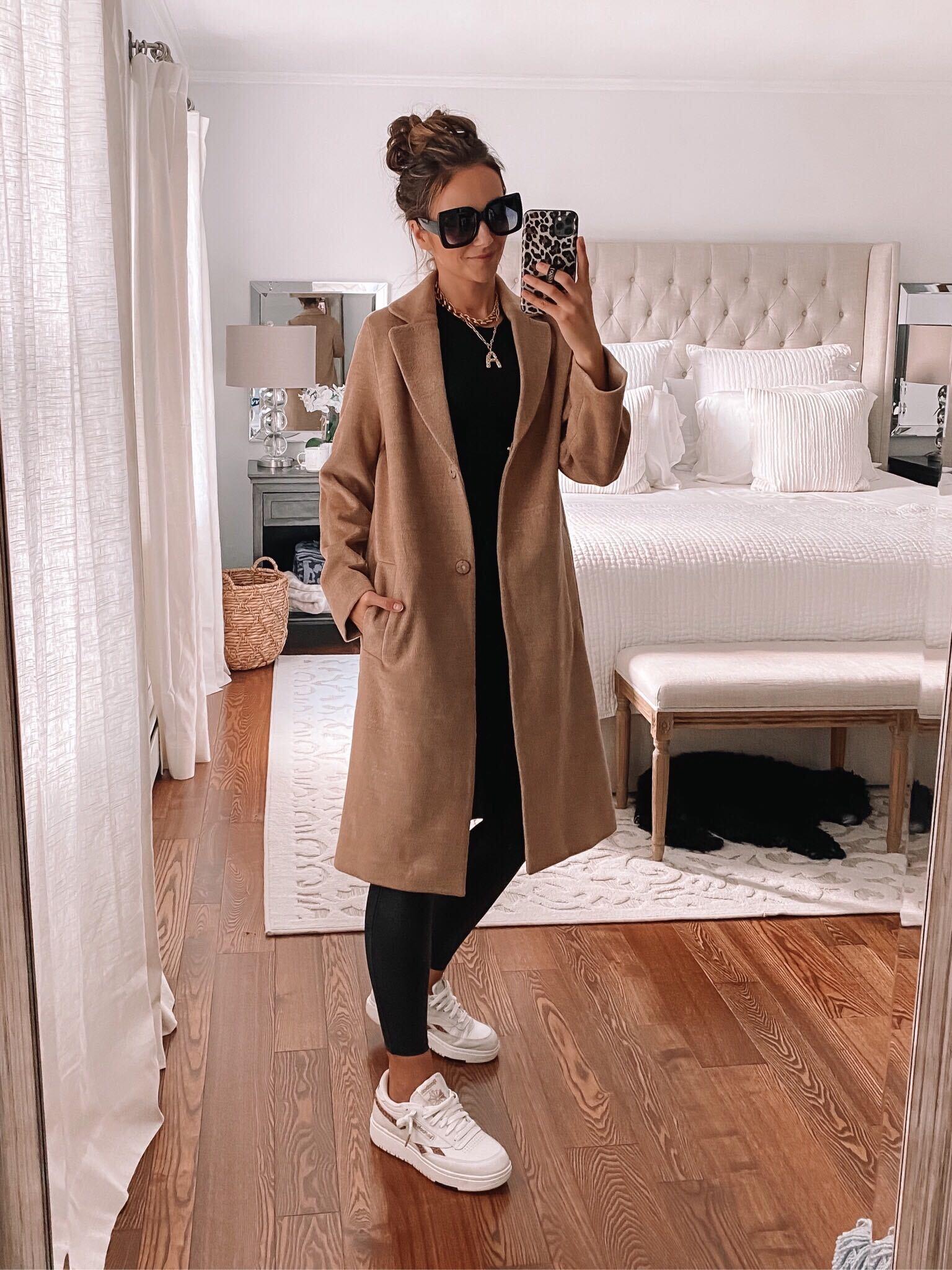 H&M Top Coat, fall outfits, fall coats