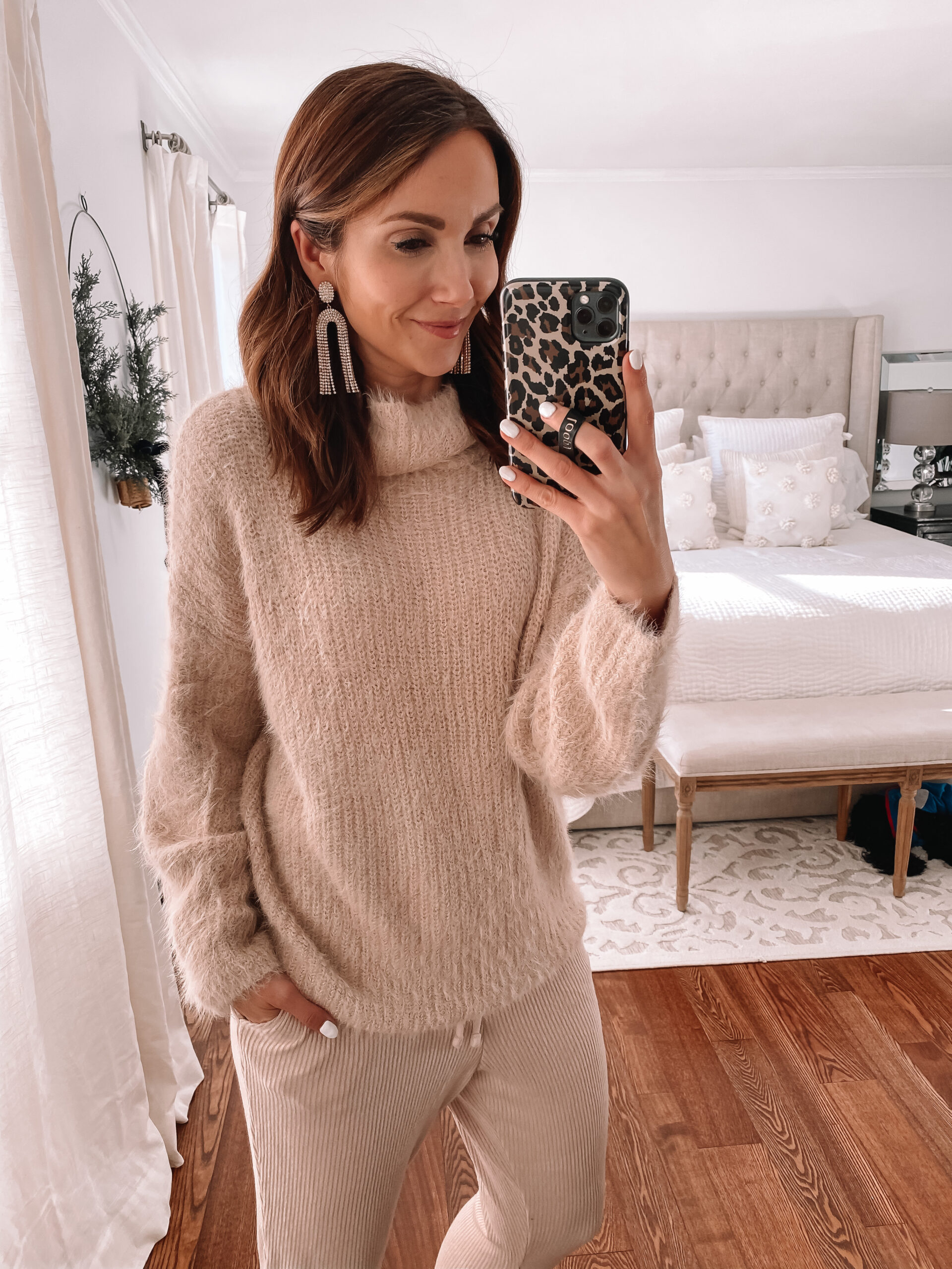 express blush sweater