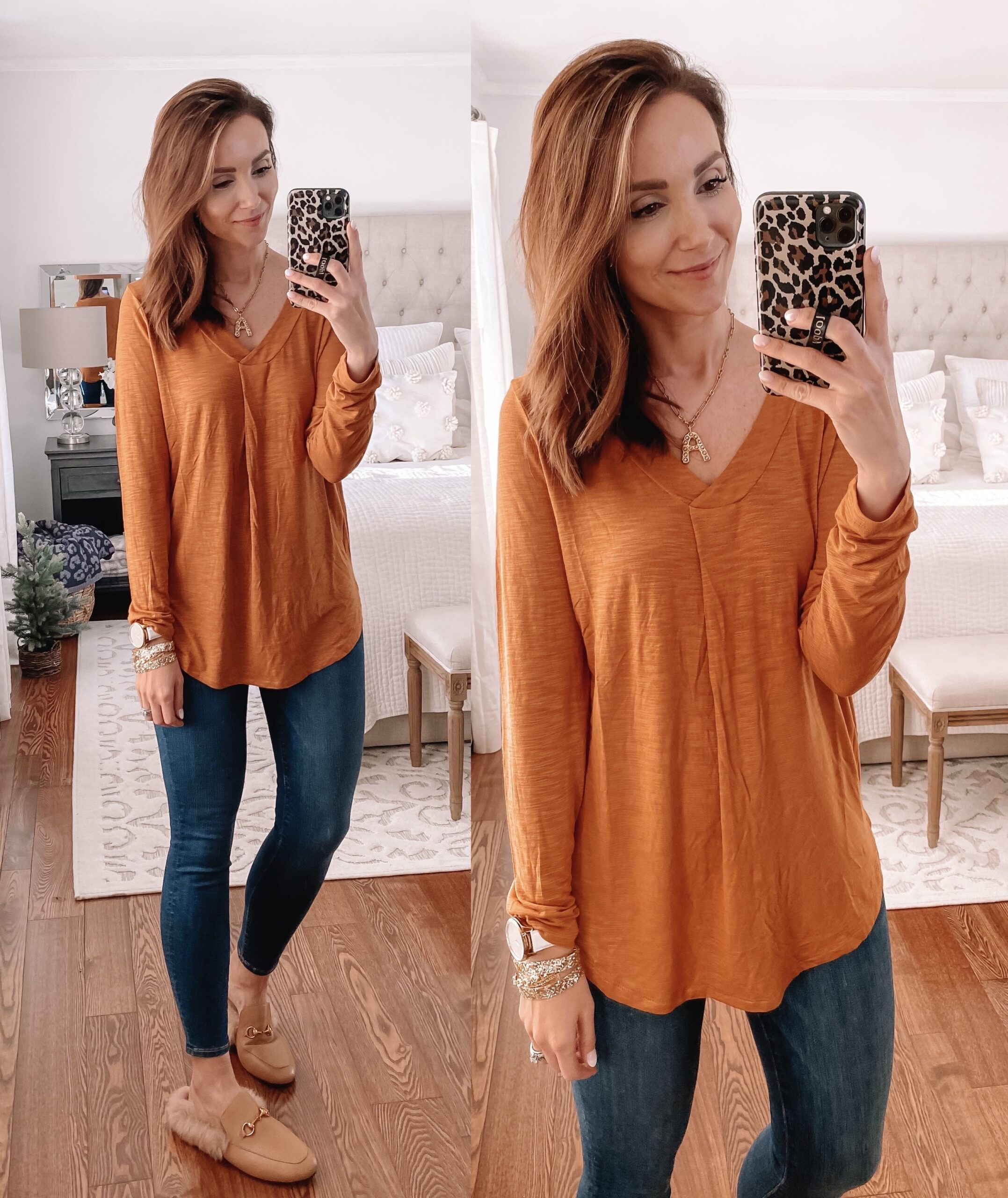 old navy layering tee, casual outfit
