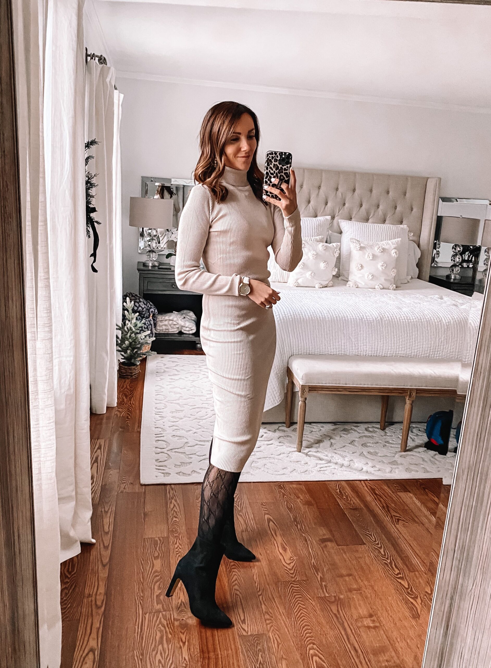 amazon ribbed sweater dress