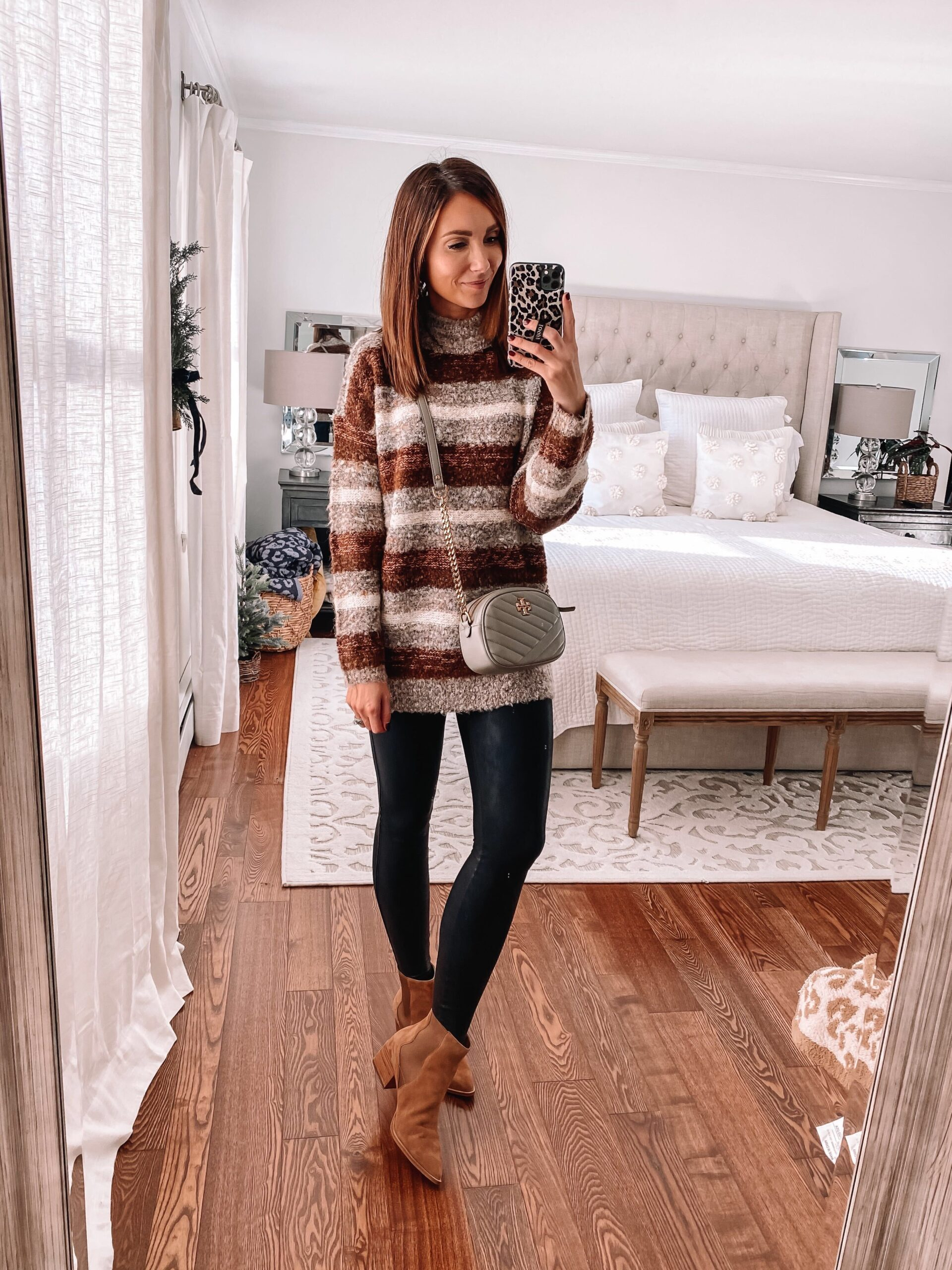 target style, striped target sweater