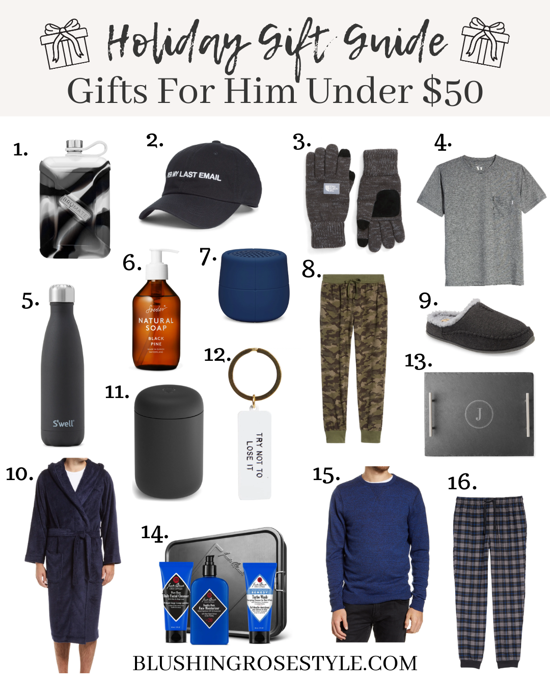 Gifts For Him: Under $50