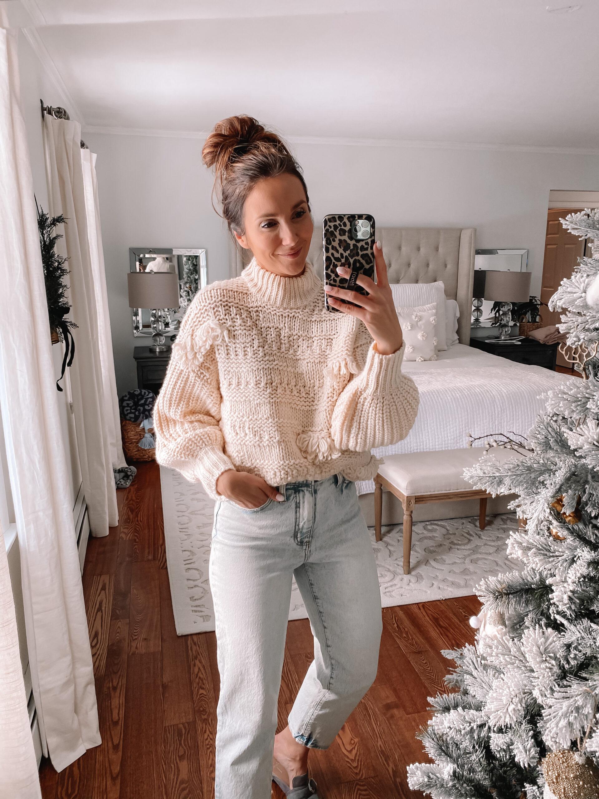 chunky target sweater