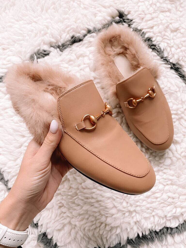 amazon fur mules