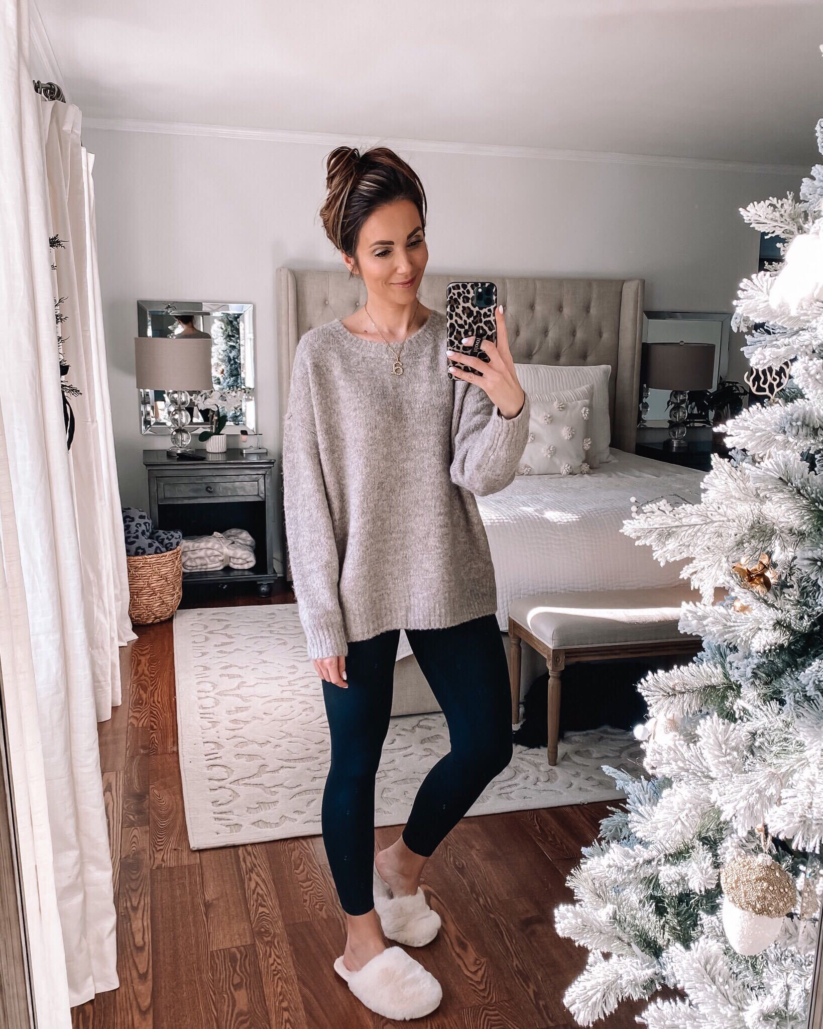 Express sweater with leggings
