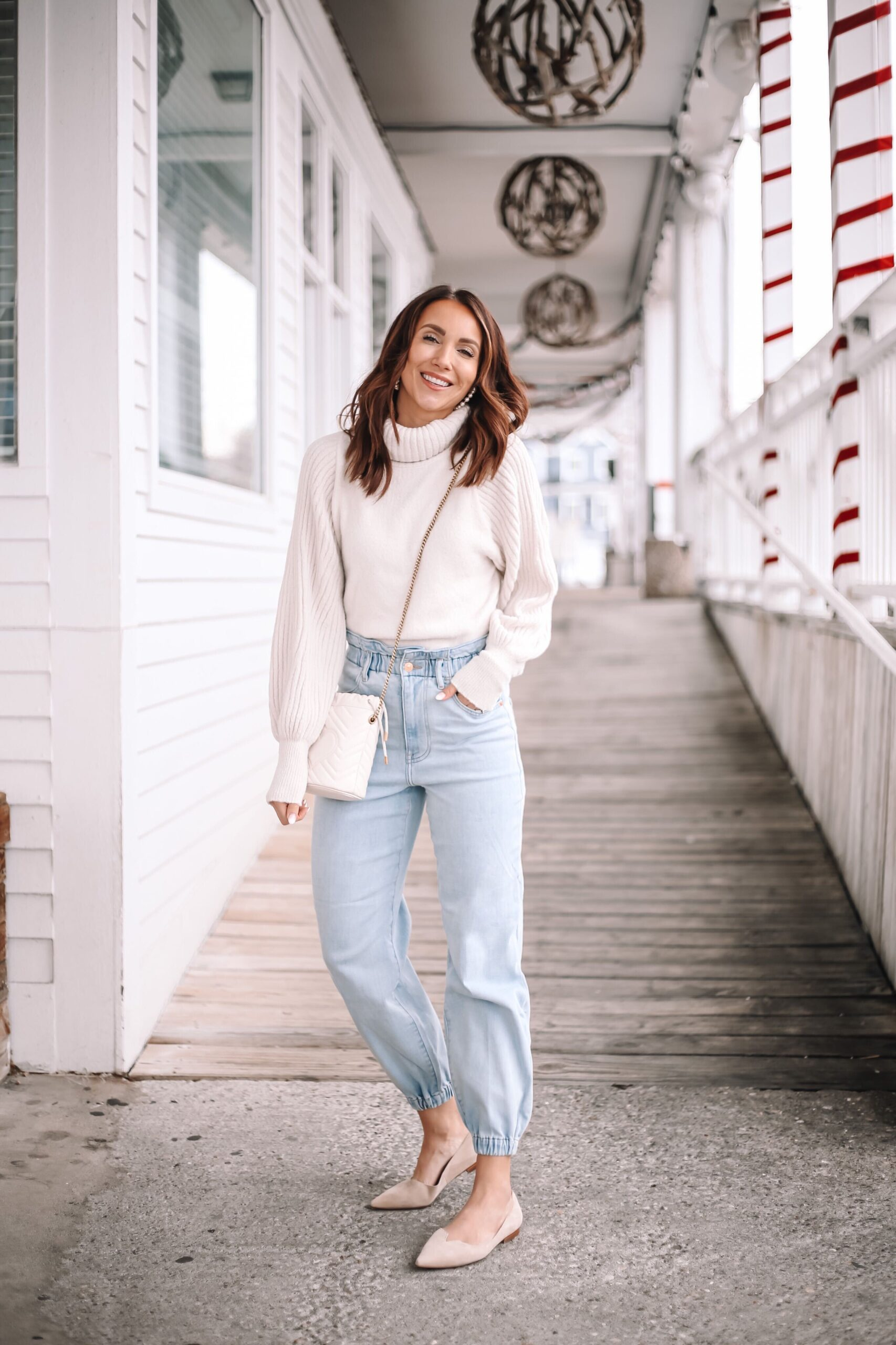 express sweater and joggers