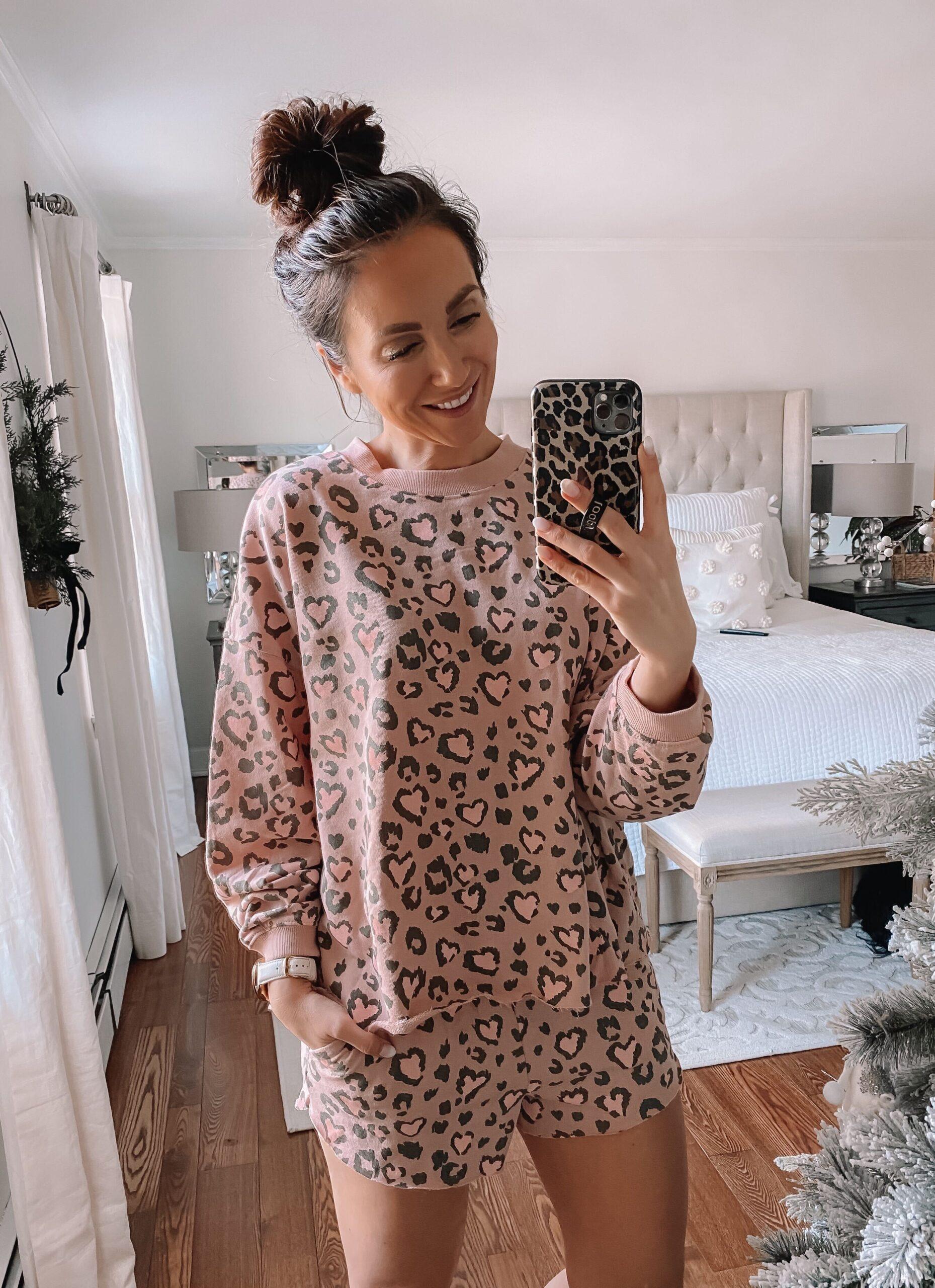 target style, target leopard pajamas