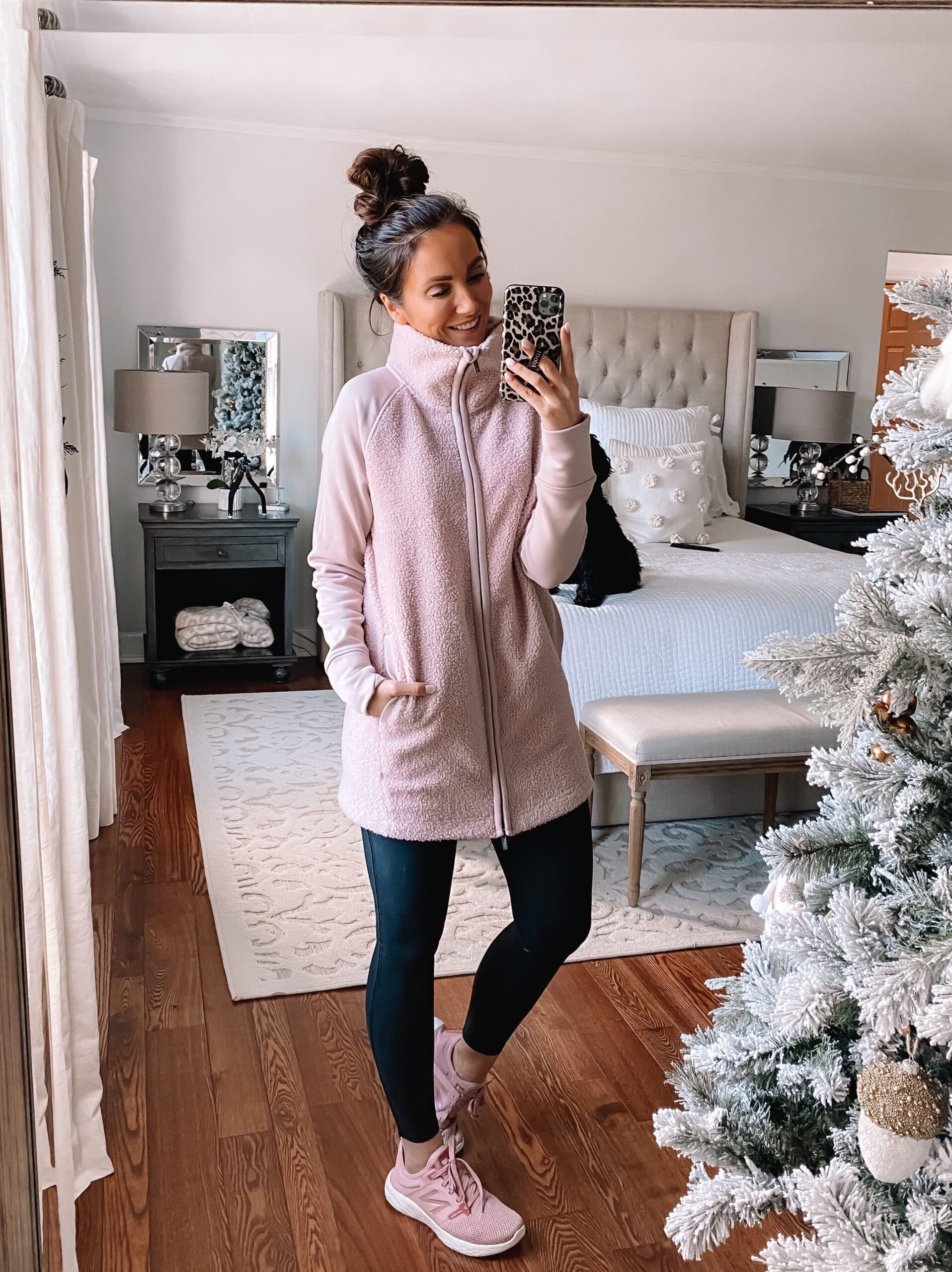 target style, target sherpa, athleisure winter style