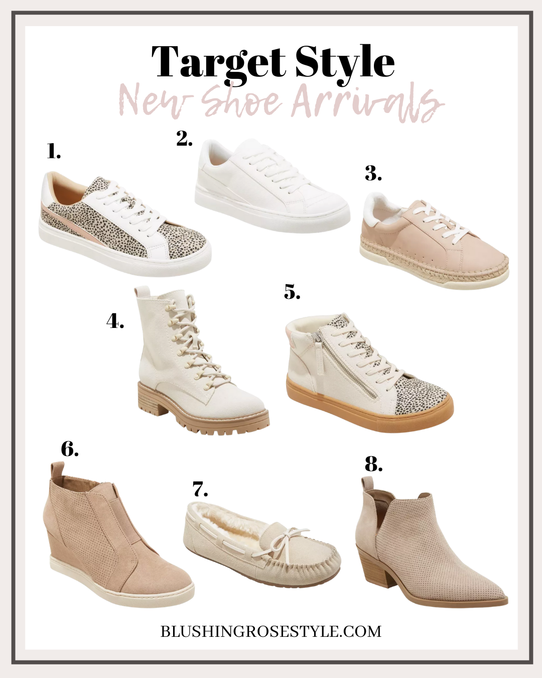 target shoe arrivals