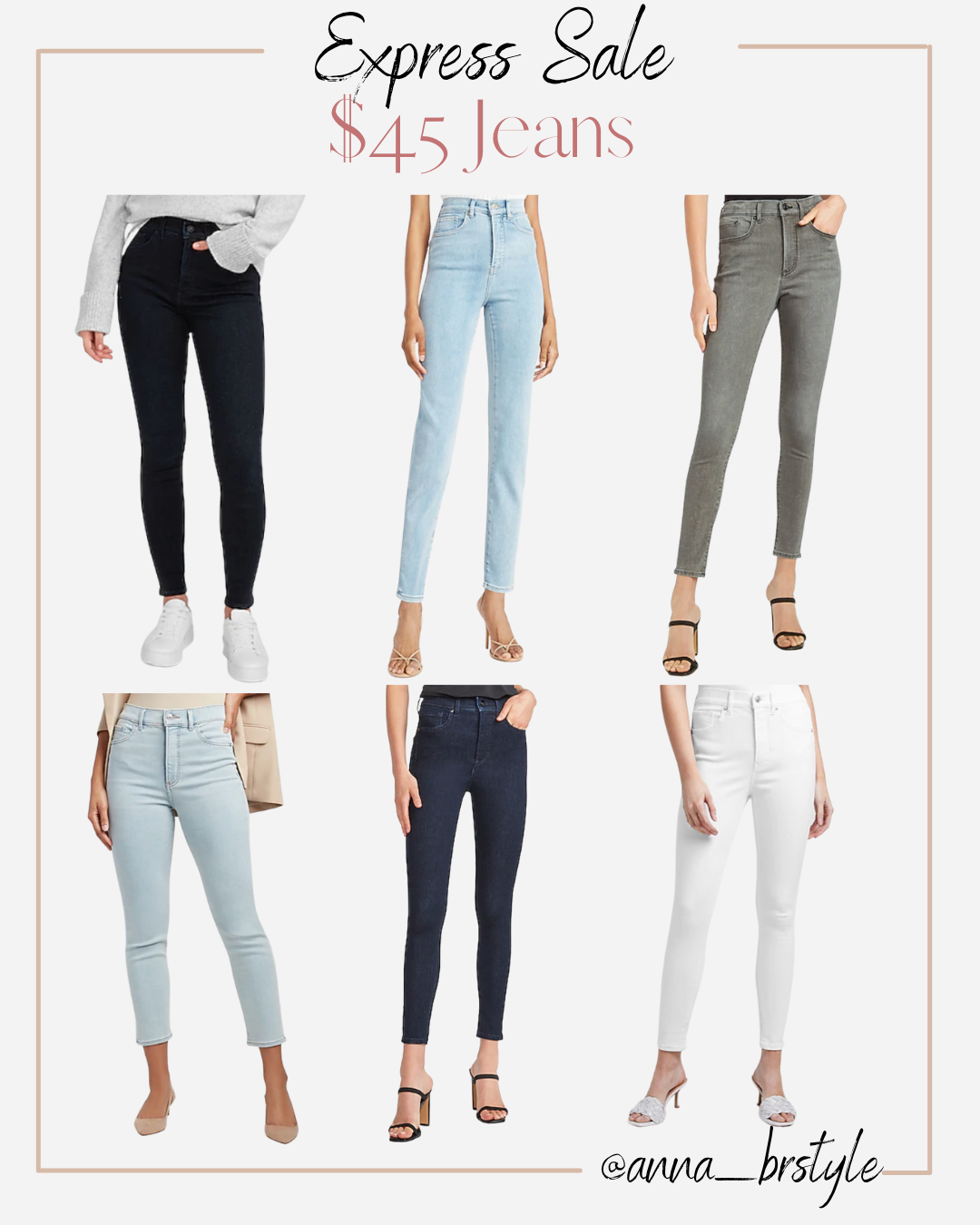 Express jeans on sale