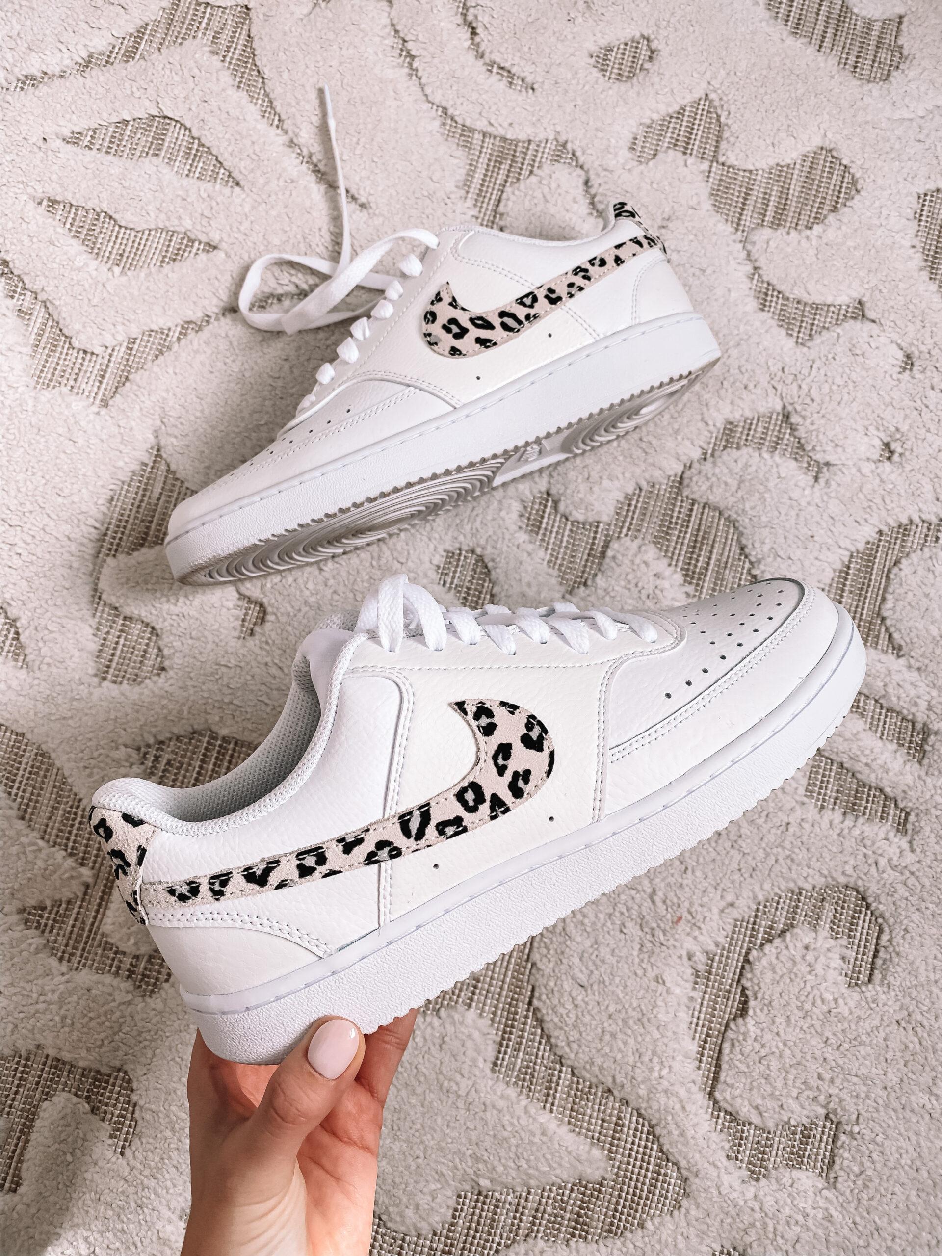 Nike leopard sneakers