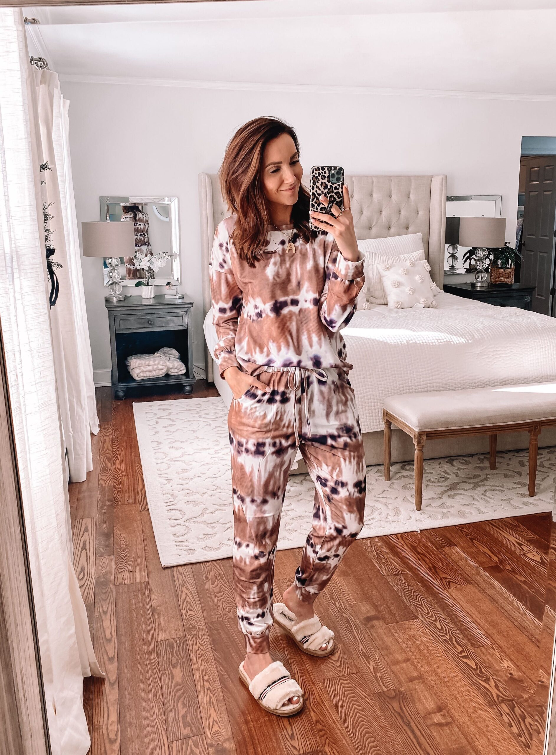amazon fashion, tie dye loungewear