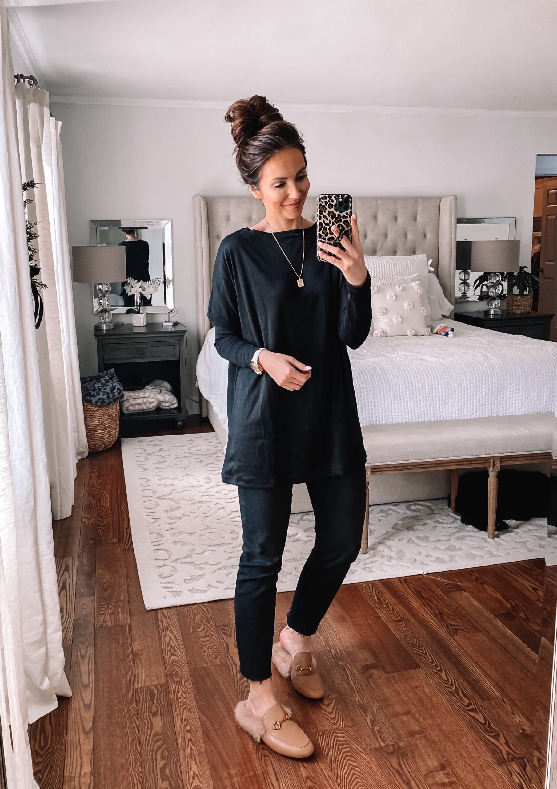 amazon black tunic, amazon fashion