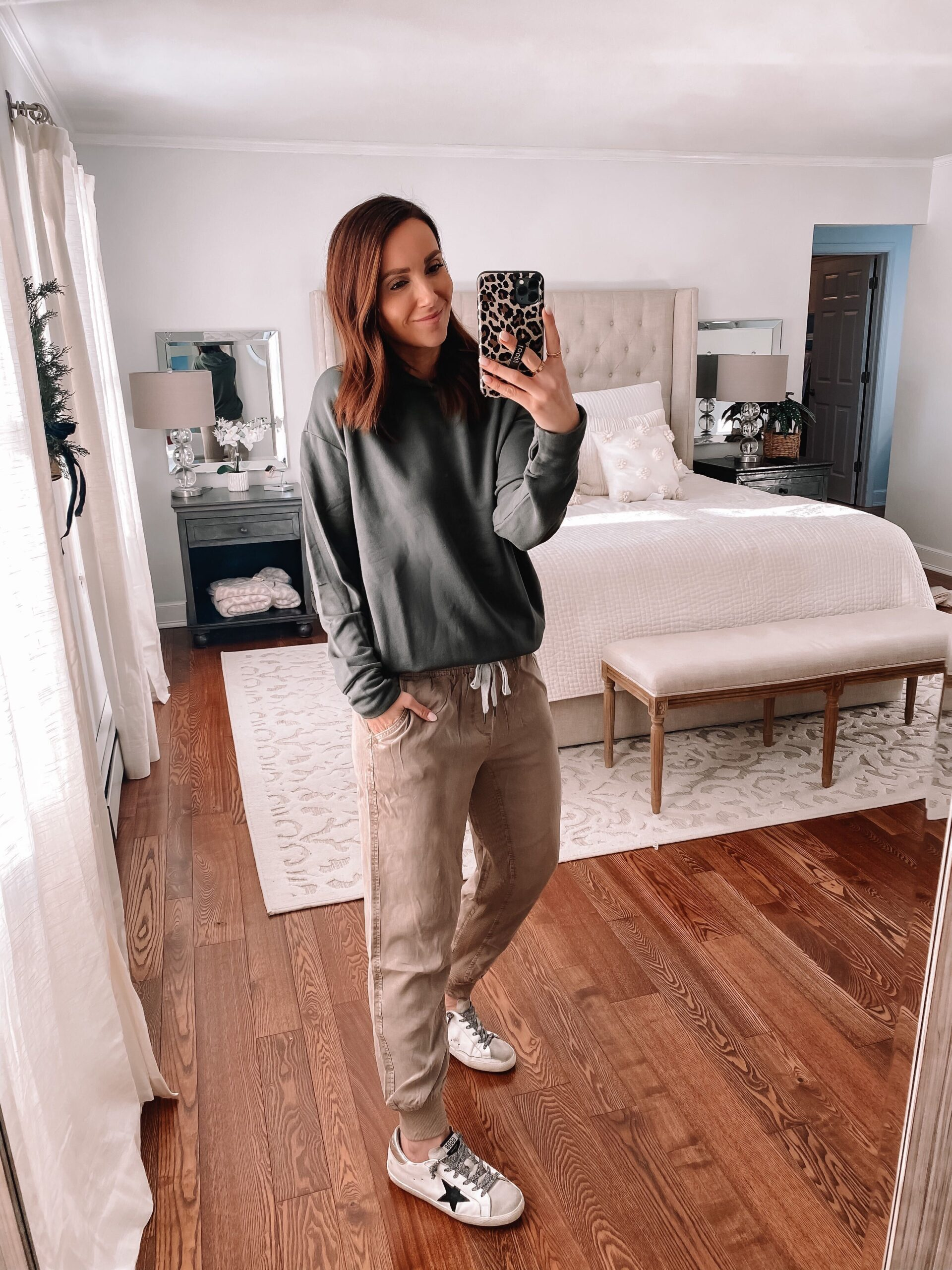aerie loungewear, casual outfit