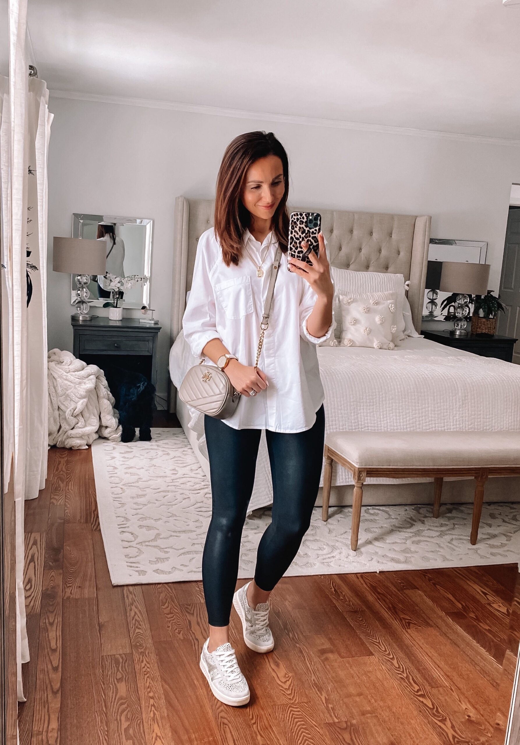 target style, target white button down
