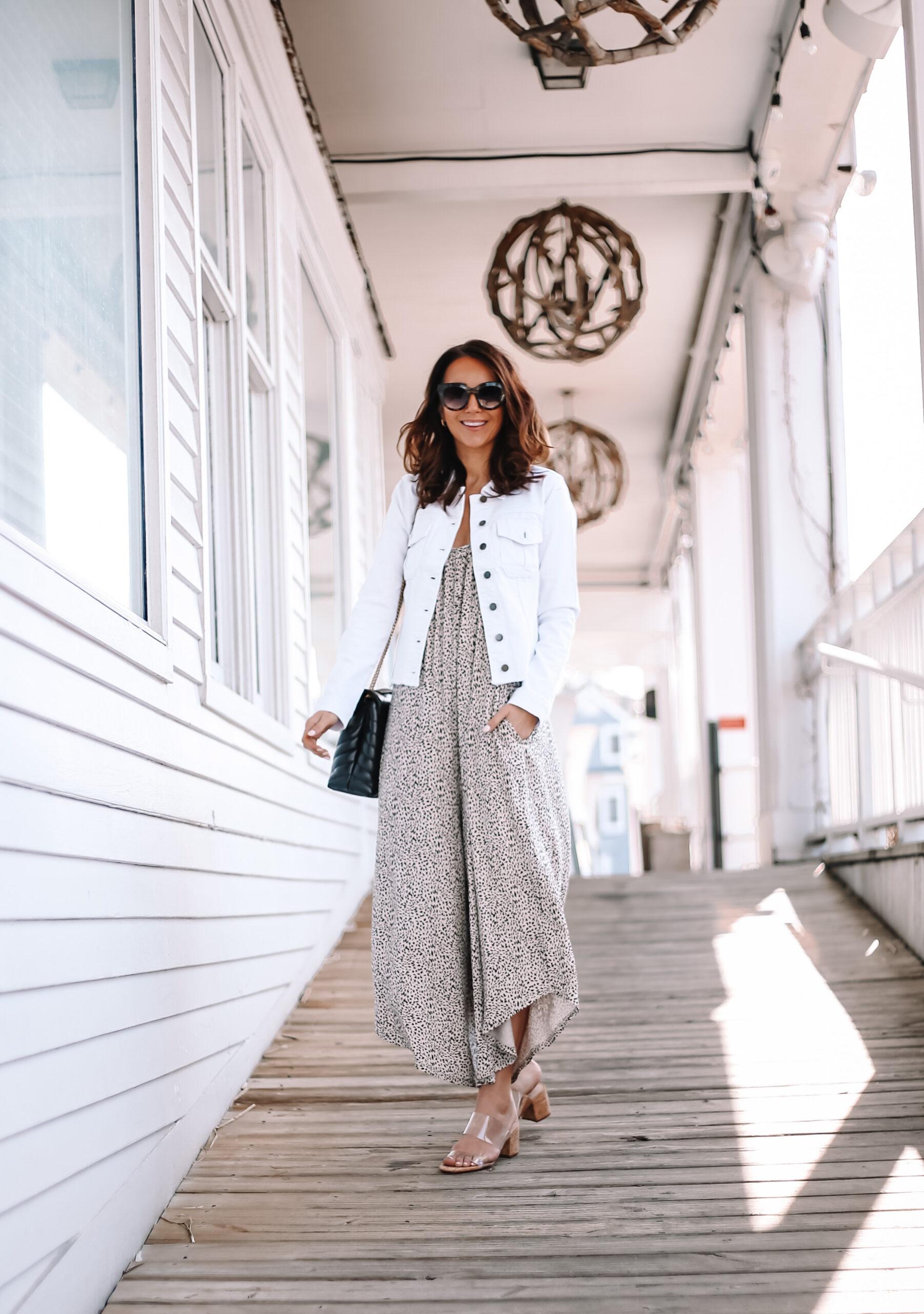 leopard jumpsuit, spring outfit