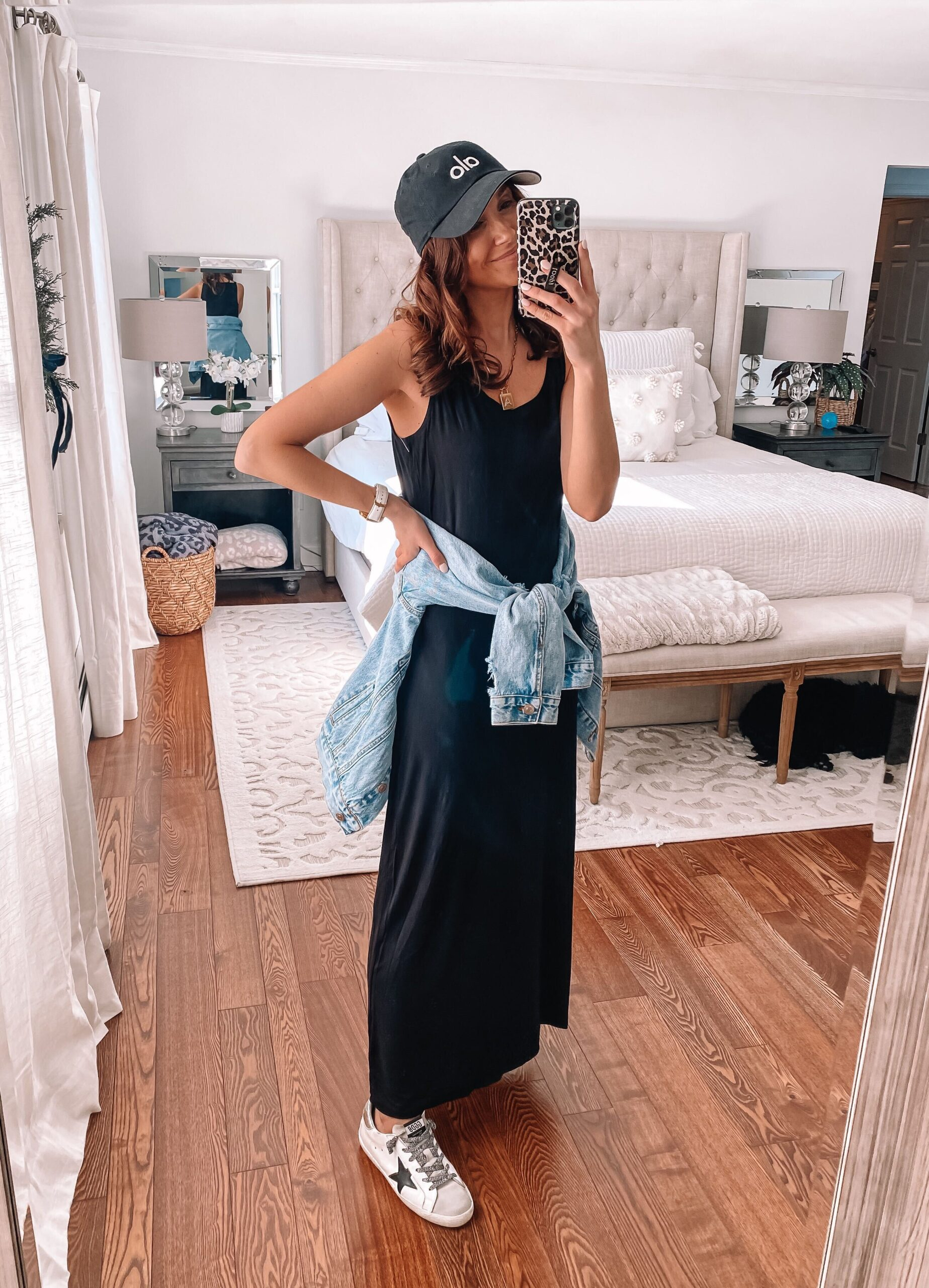 amazon black casual dress, athleisure outfit