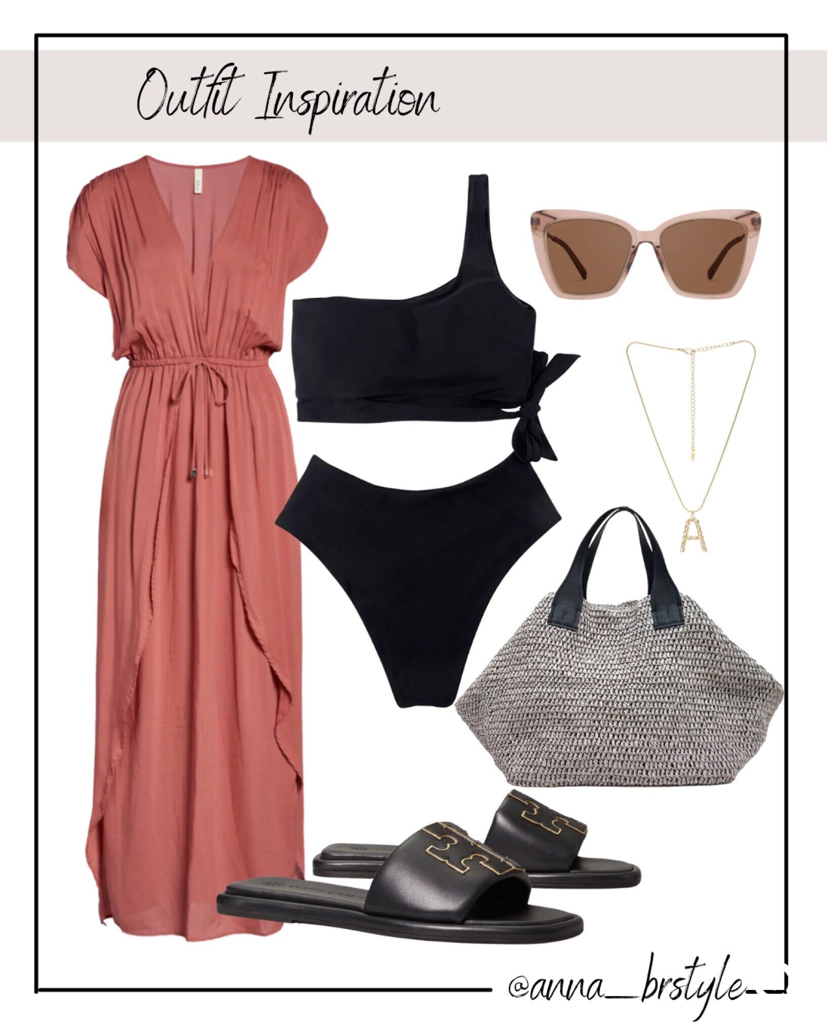 travel style, swimsuit, swim coverup
