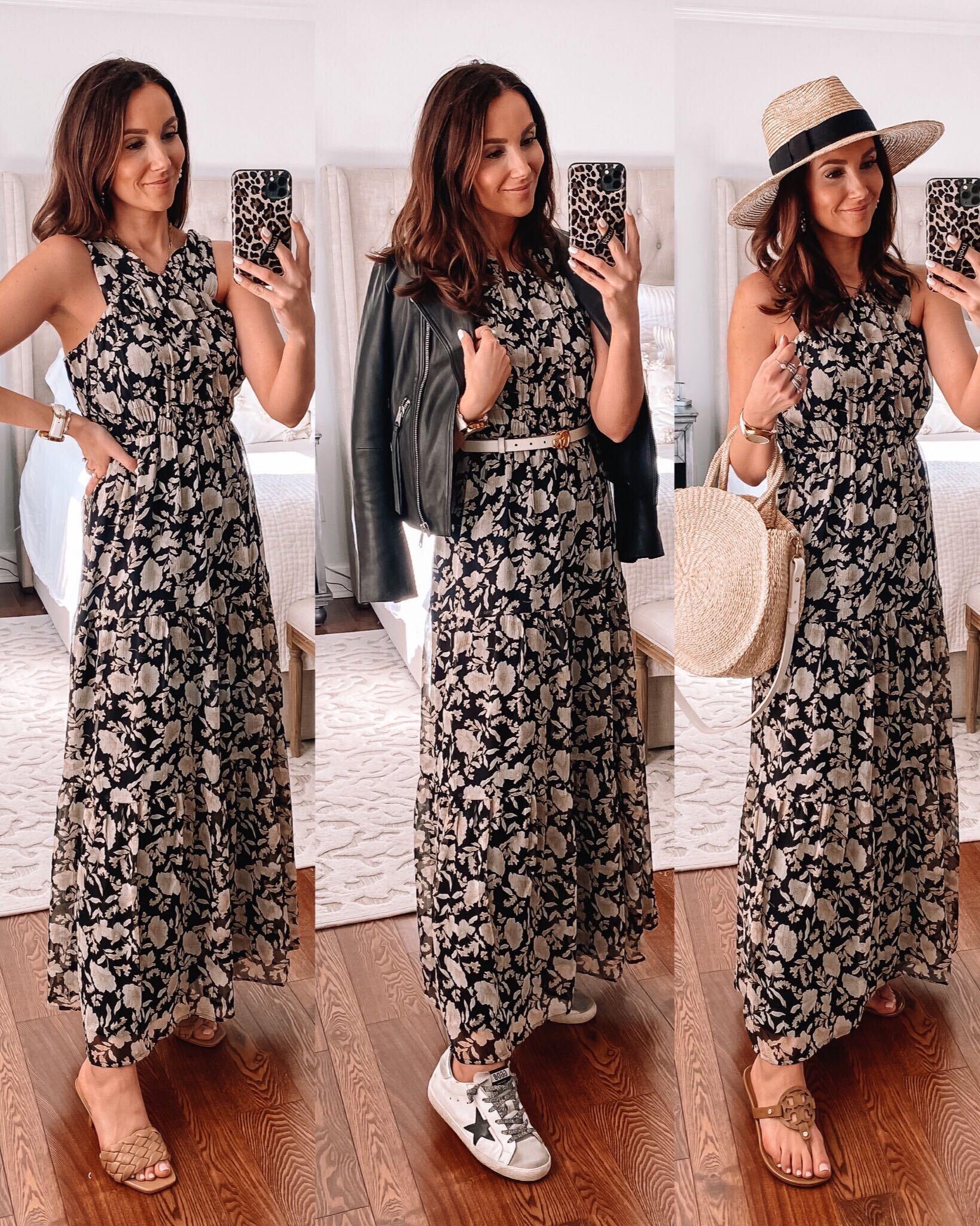 spring dress, express maxi dress