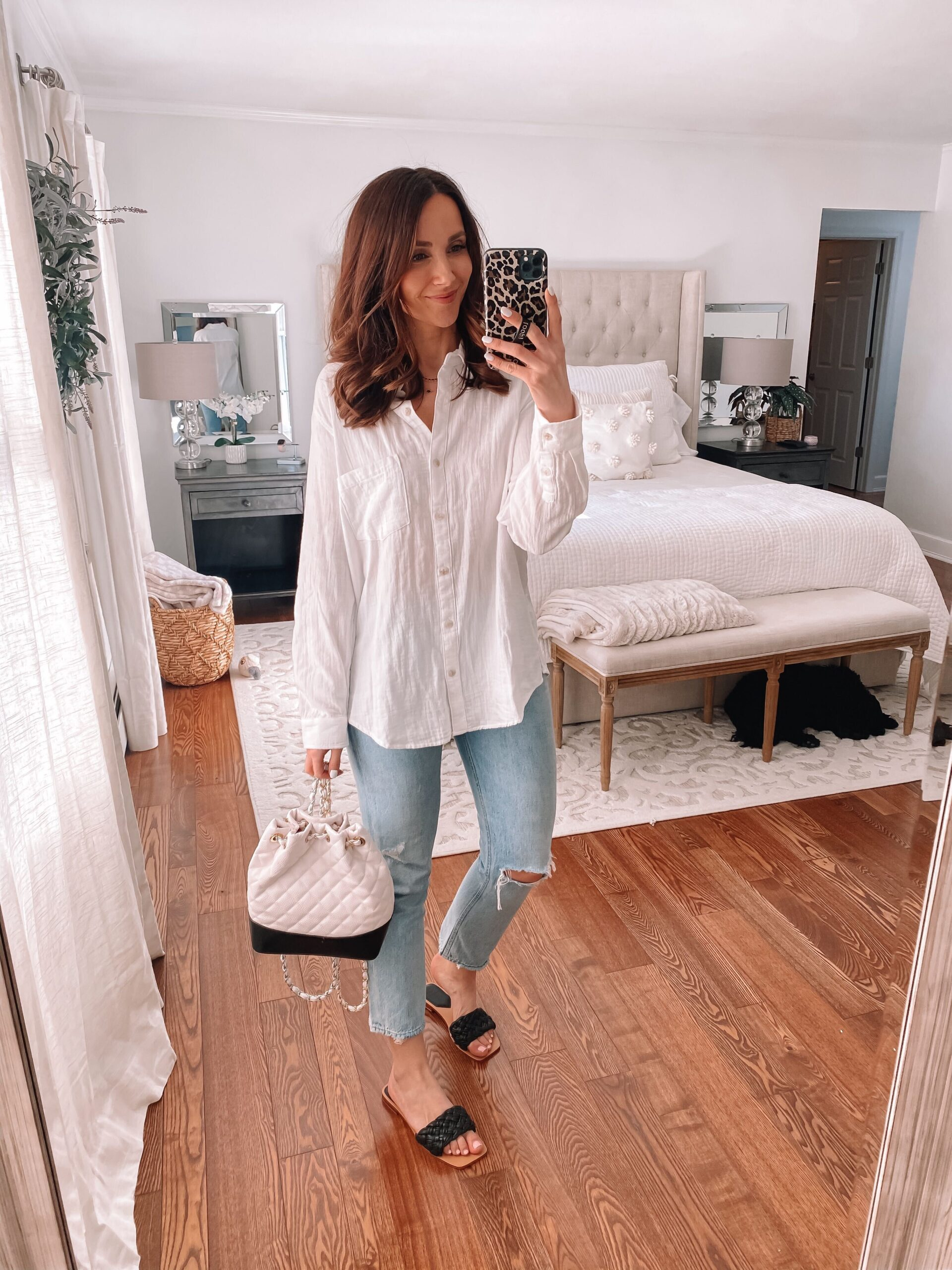 target blouse, marc fisher sandals