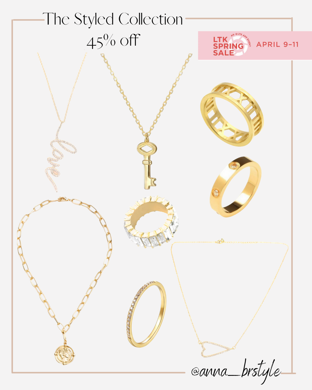 styled collection necklaces