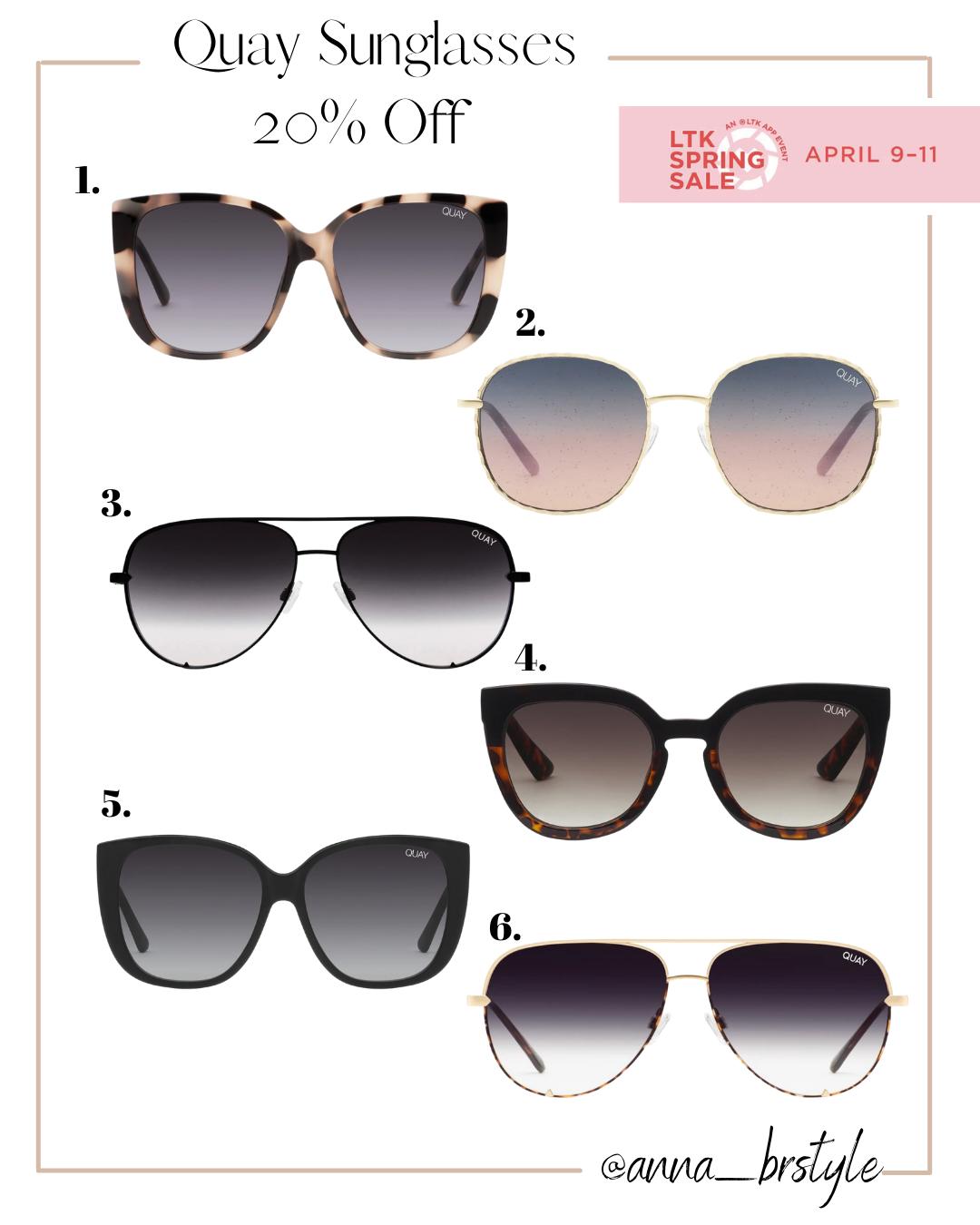 quay sunglasses on sale