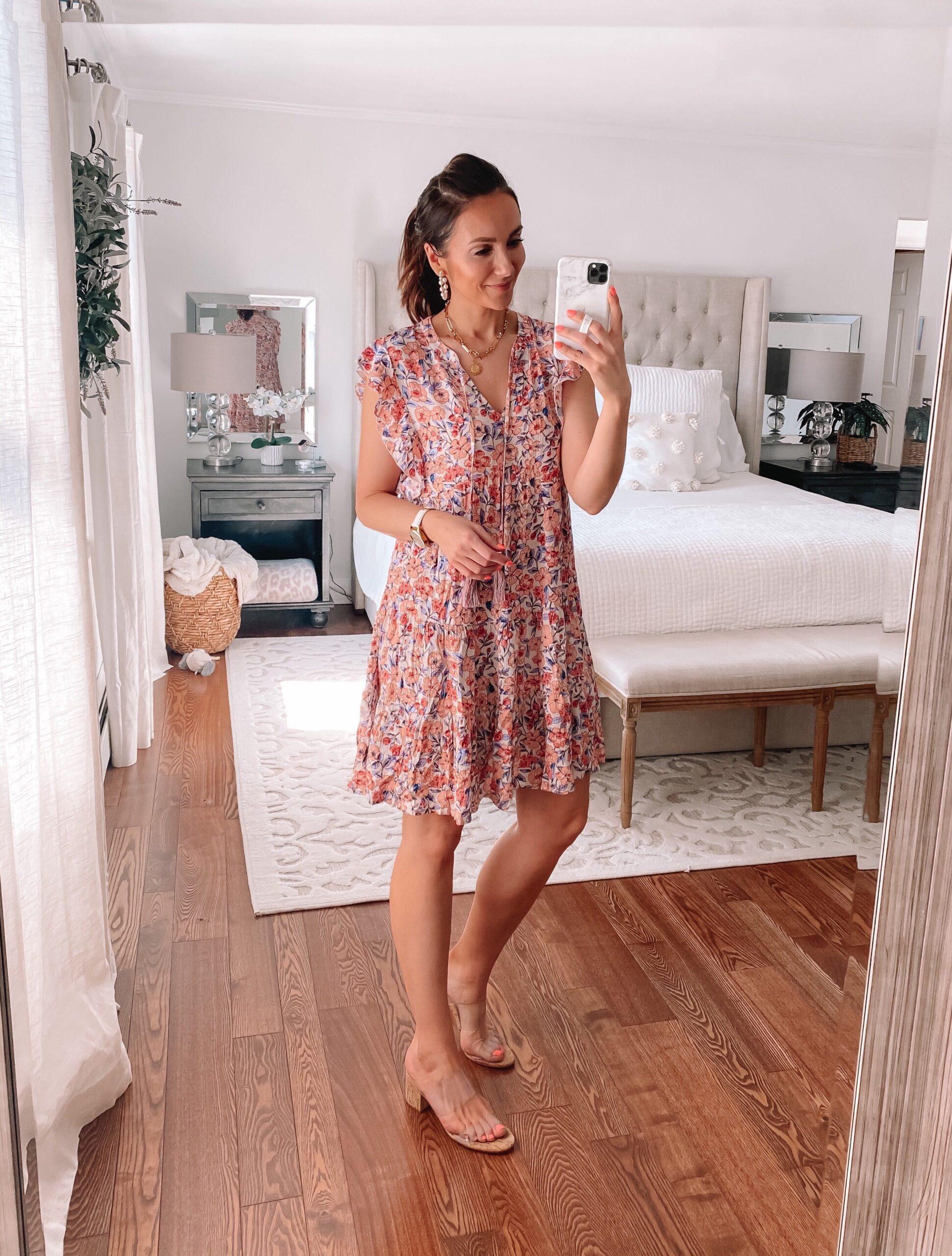 target floral dress