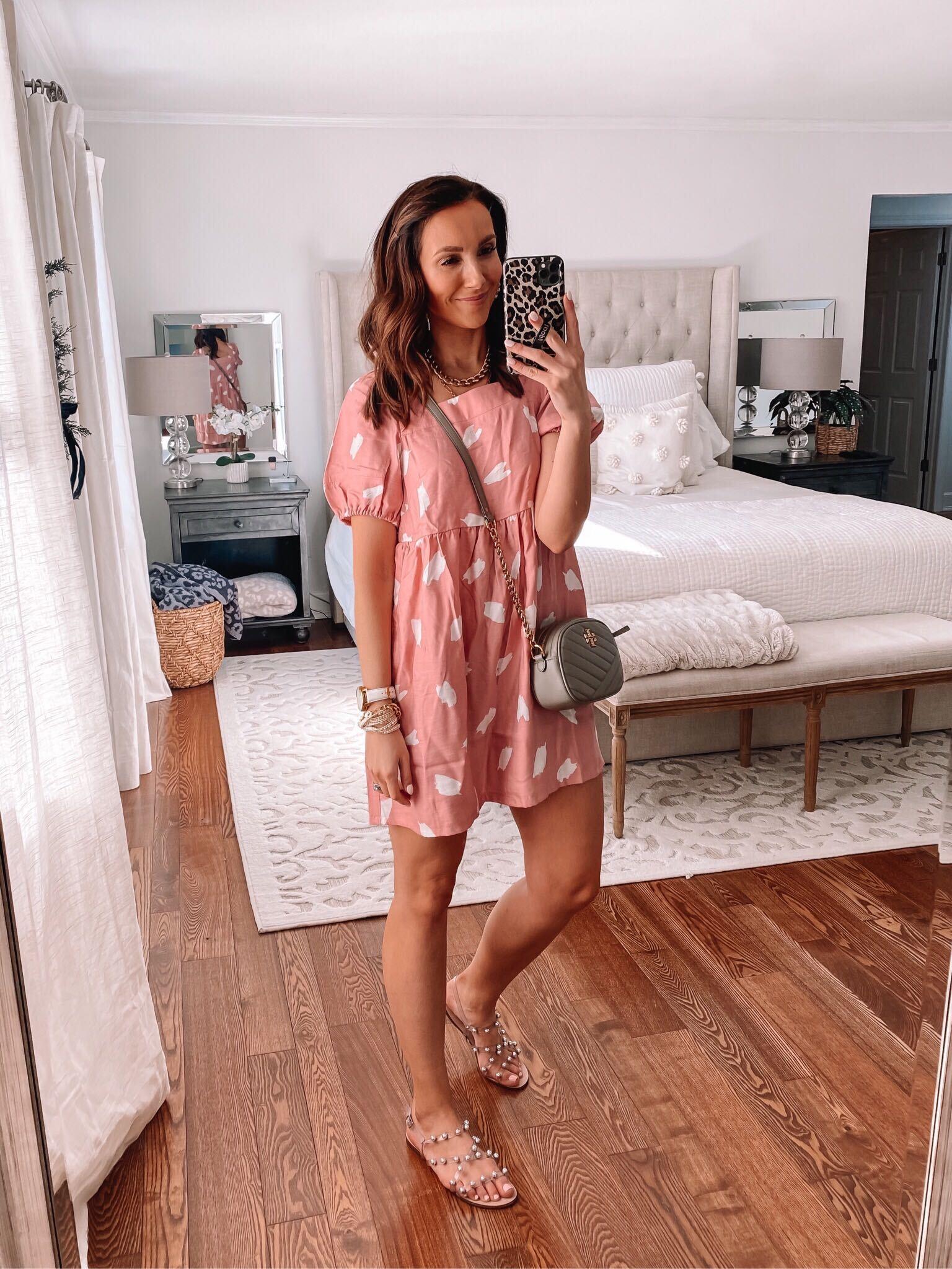 loft brushstroke dress