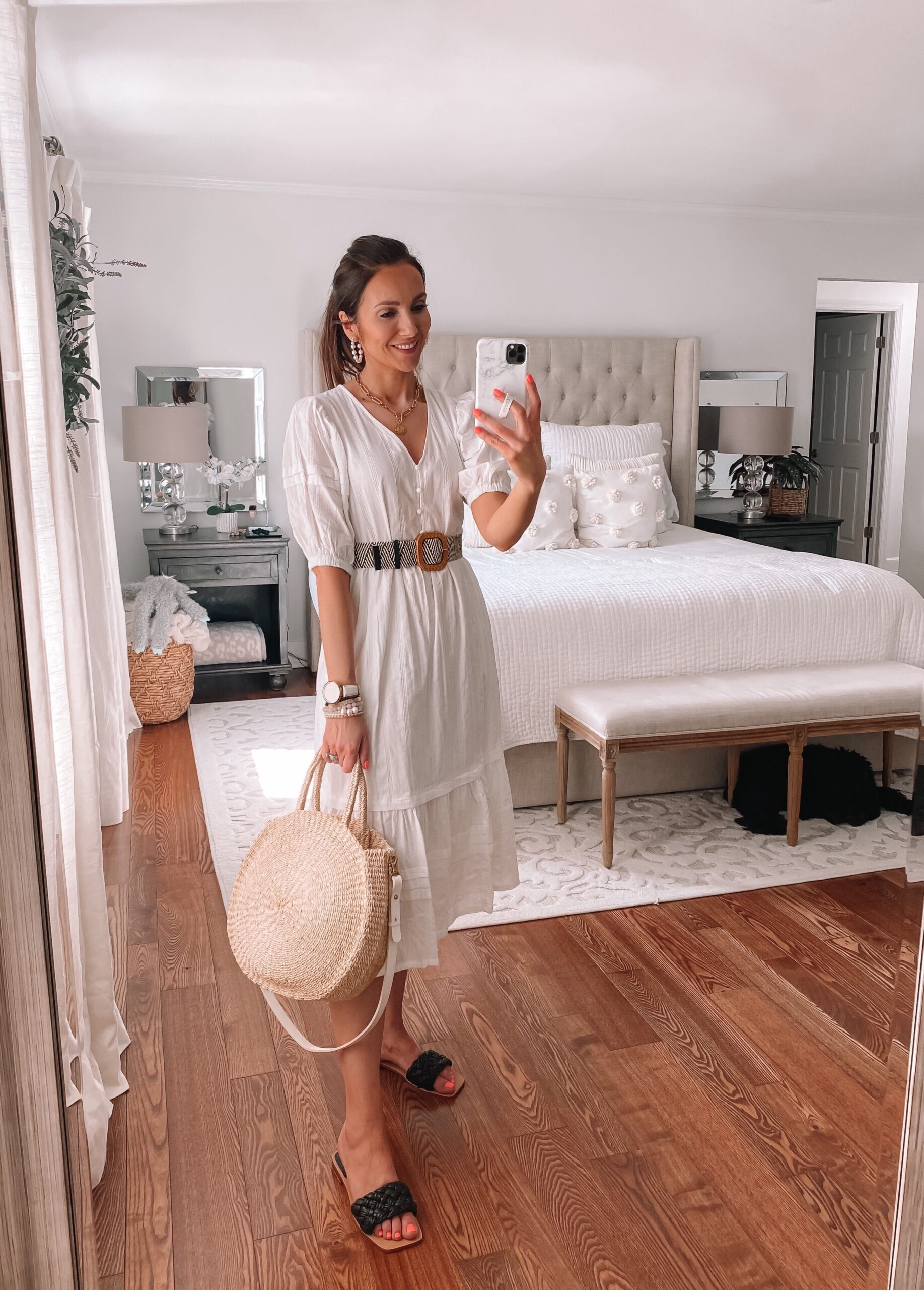 target white dress, target style, spring style
