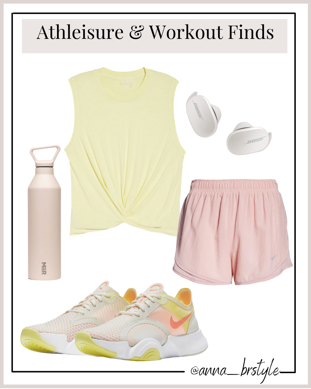nordstrom workout finds, nike sneakers