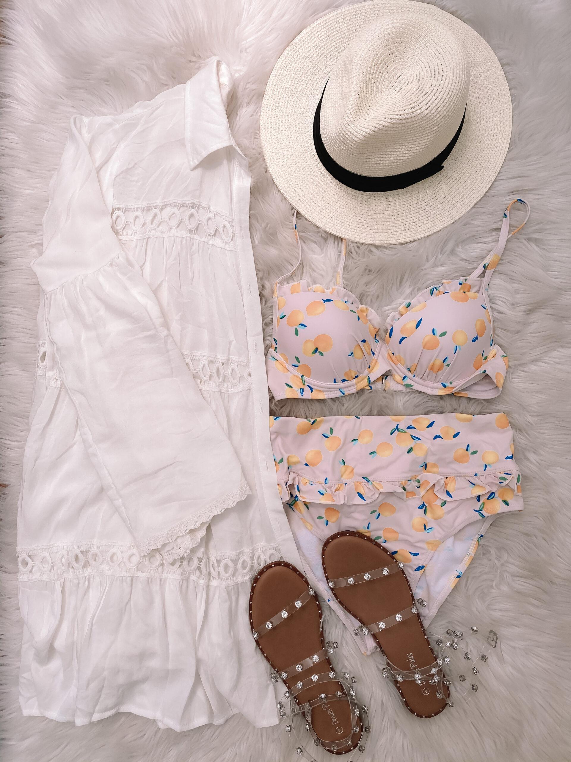 amazon lemon swimsuit