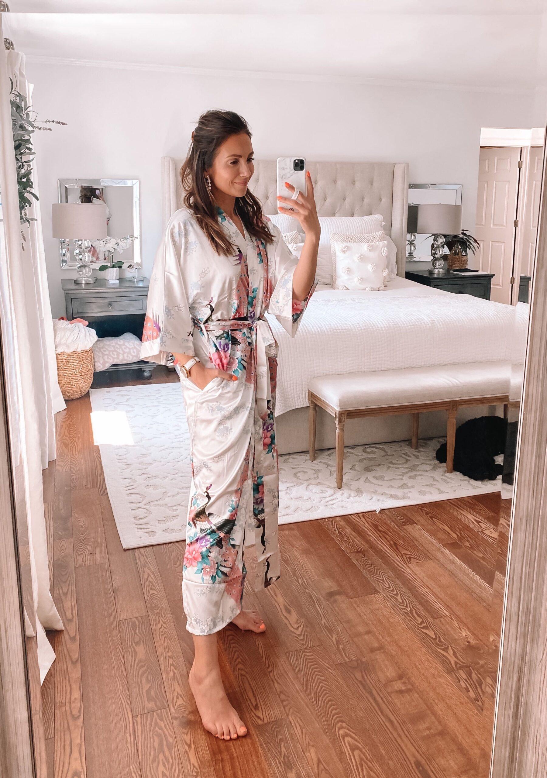 amazon kimono robe